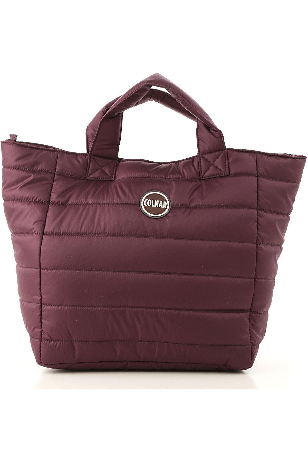 Image of Colmar Tote Bag, Dark Violet, Nylon, 2017