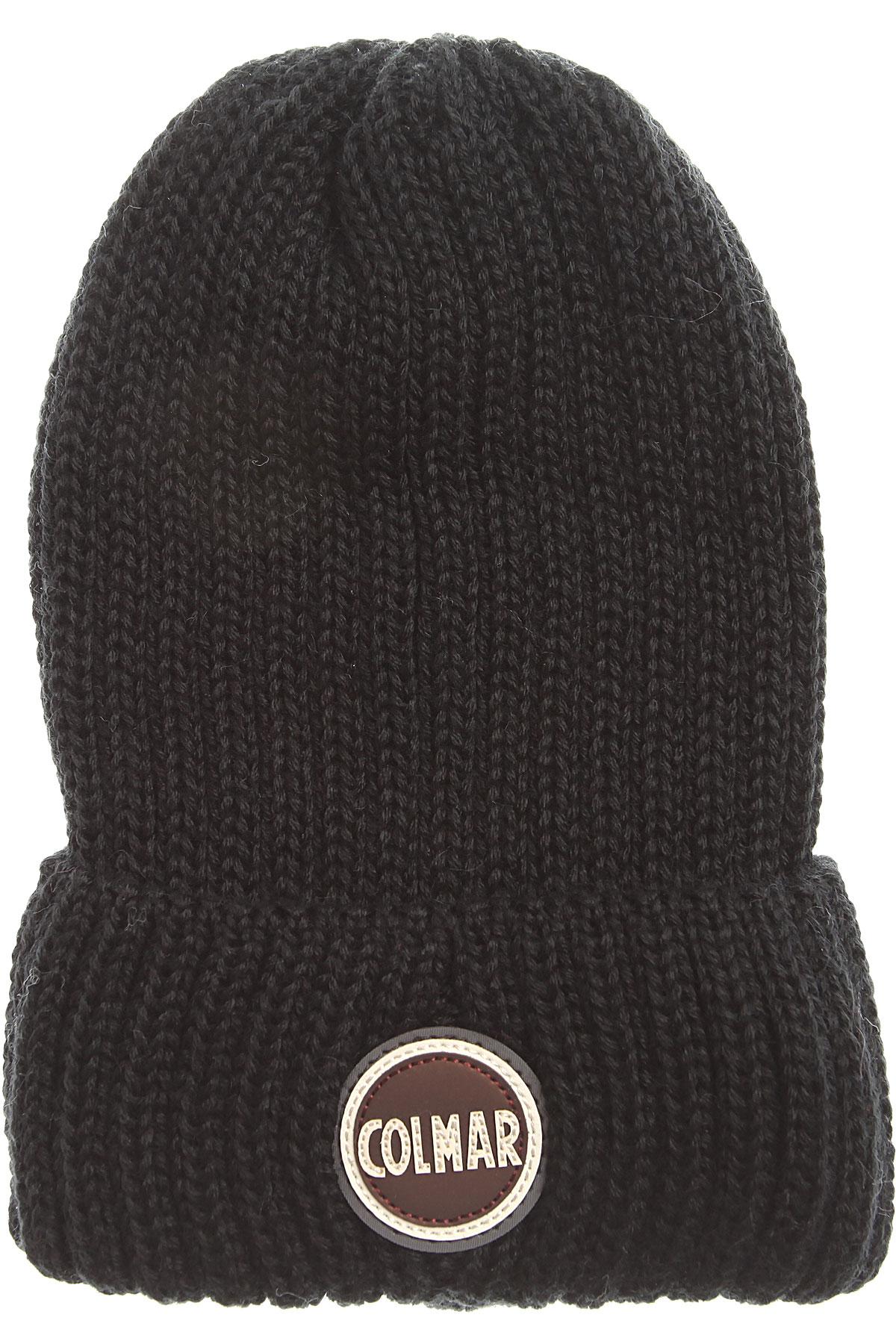 Image of Colmar Hat for Women, Black, Wool, 2017