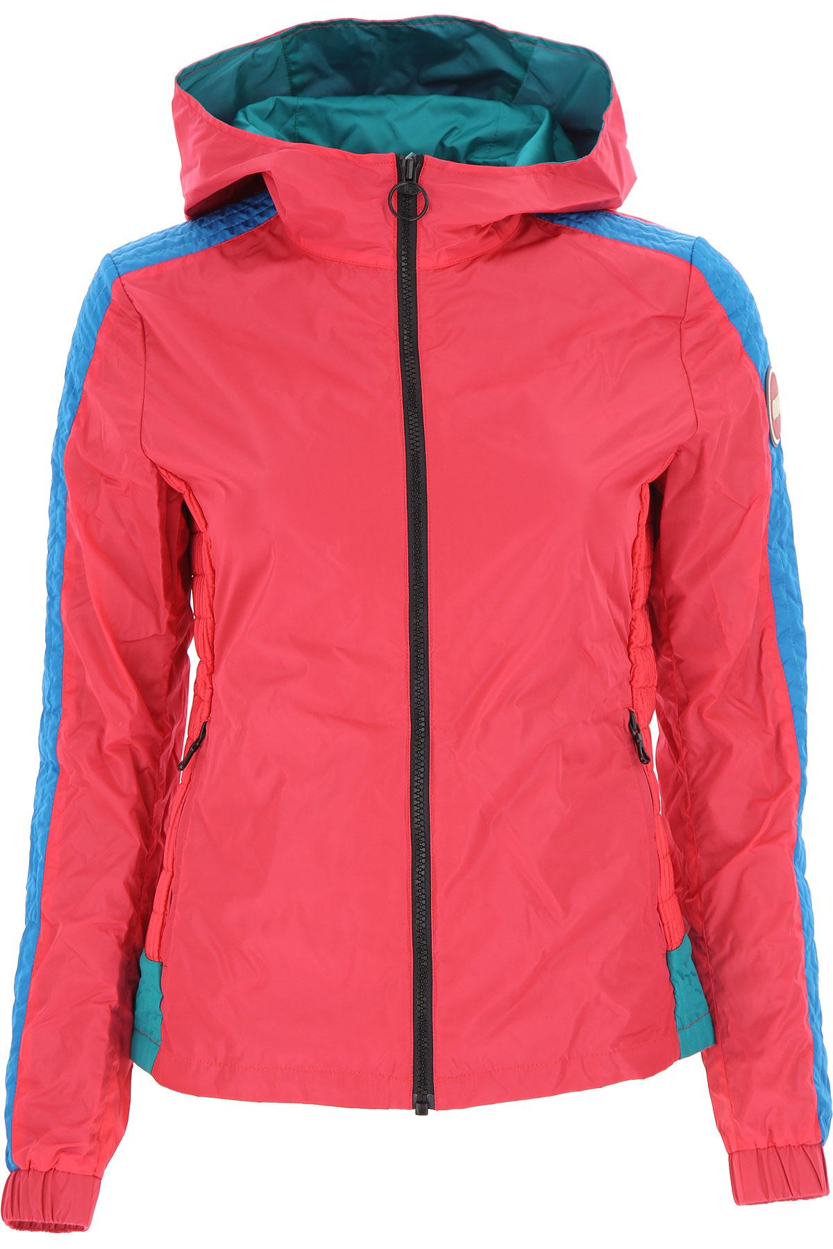 Colmar Jacket for Women On Sale, Magenta, polyester, 2019, 2 4 6
