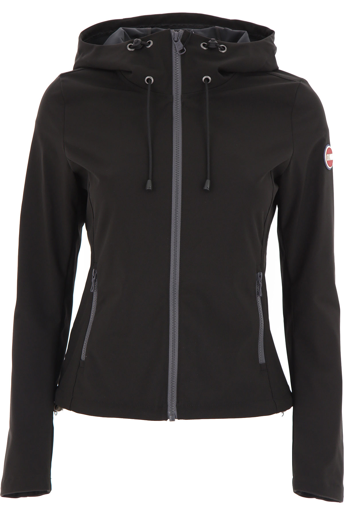 Colmar Jacket for Women On Sale, Black, polyester, 2019, 2 4 6 8