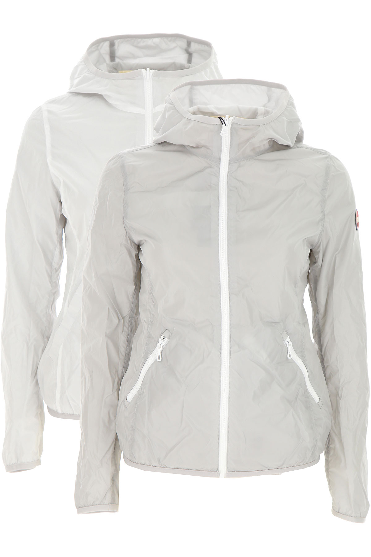 Colmar Jacket for Women On Sale, Ice Grey, polyester, 2019, 2 4 6 8