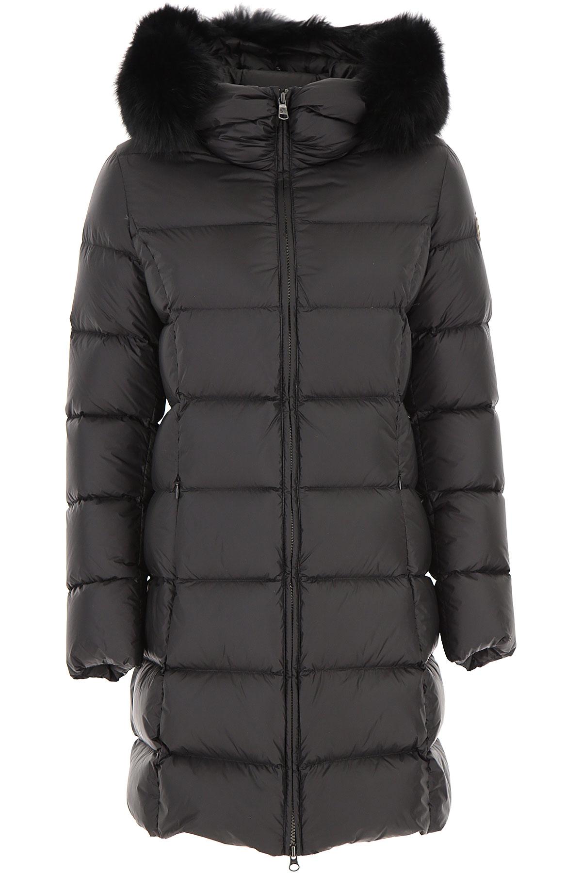 Colmar Down Jacket for Women, Puffer Ski Jacket On Sale, Black, Down, 2019, 12 6 8