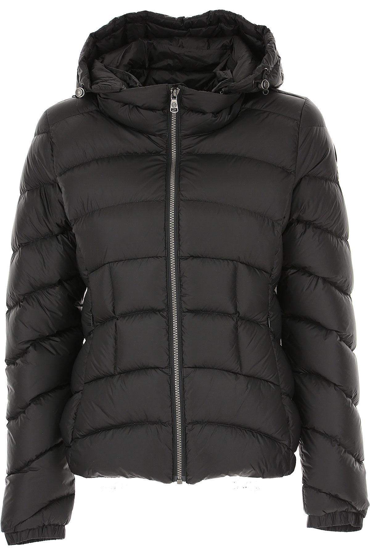 Colmar Down Jacket for Women, Puffer Ski Jacket On Sale, Black, polyamide, 2019, 10 6 8