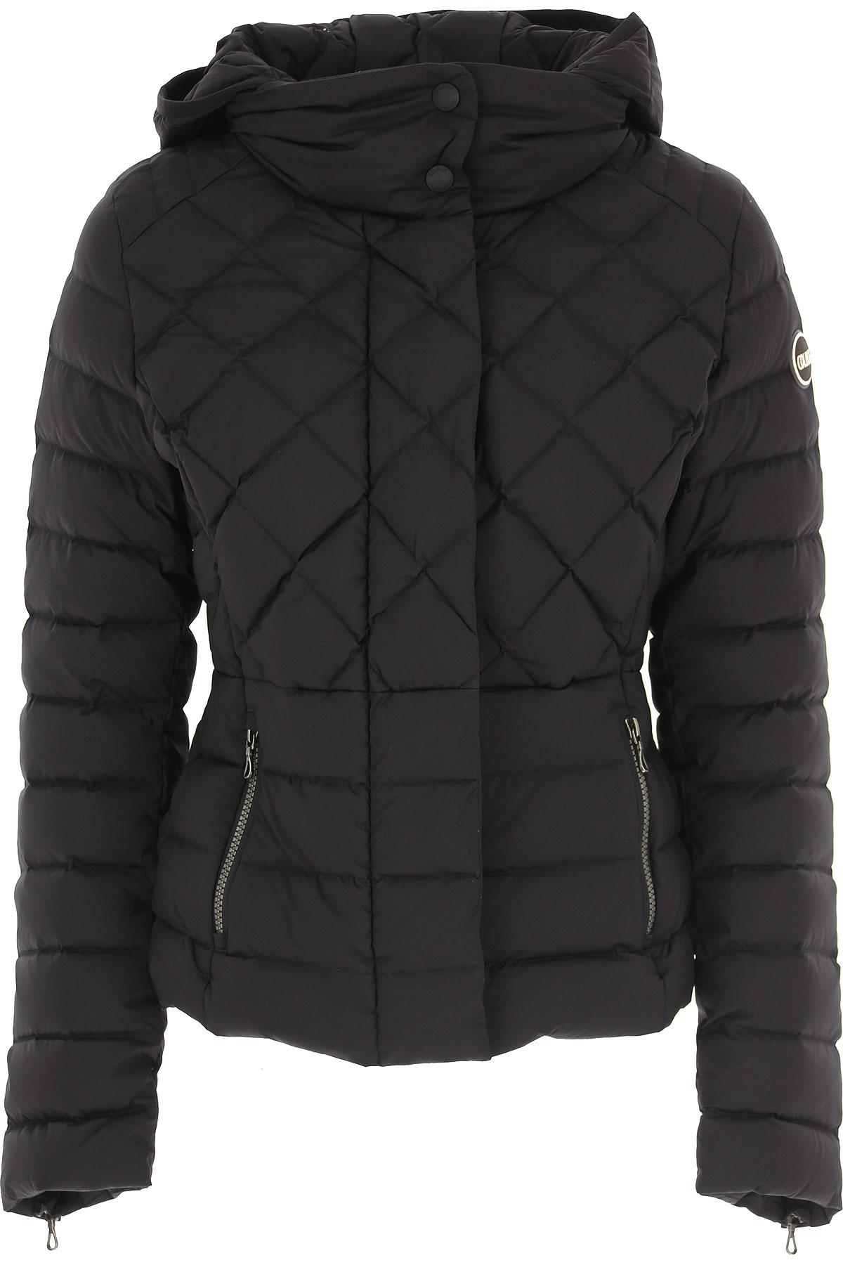 Colmar Down Jacket for Women, Puffer Ski Jacket On Sale in Outlet, Black, polyamide, 2019, 4 6 8