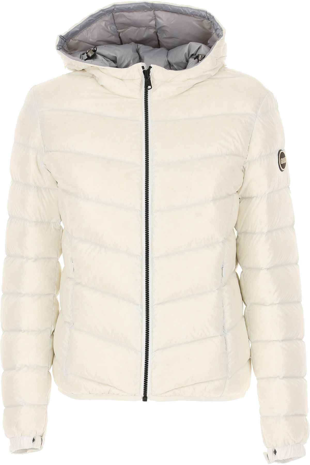 Colmar Down Jacket for Women, Puffer Ski Jacket On Sale in Outlet, White, polyamide, 2019, 4 6