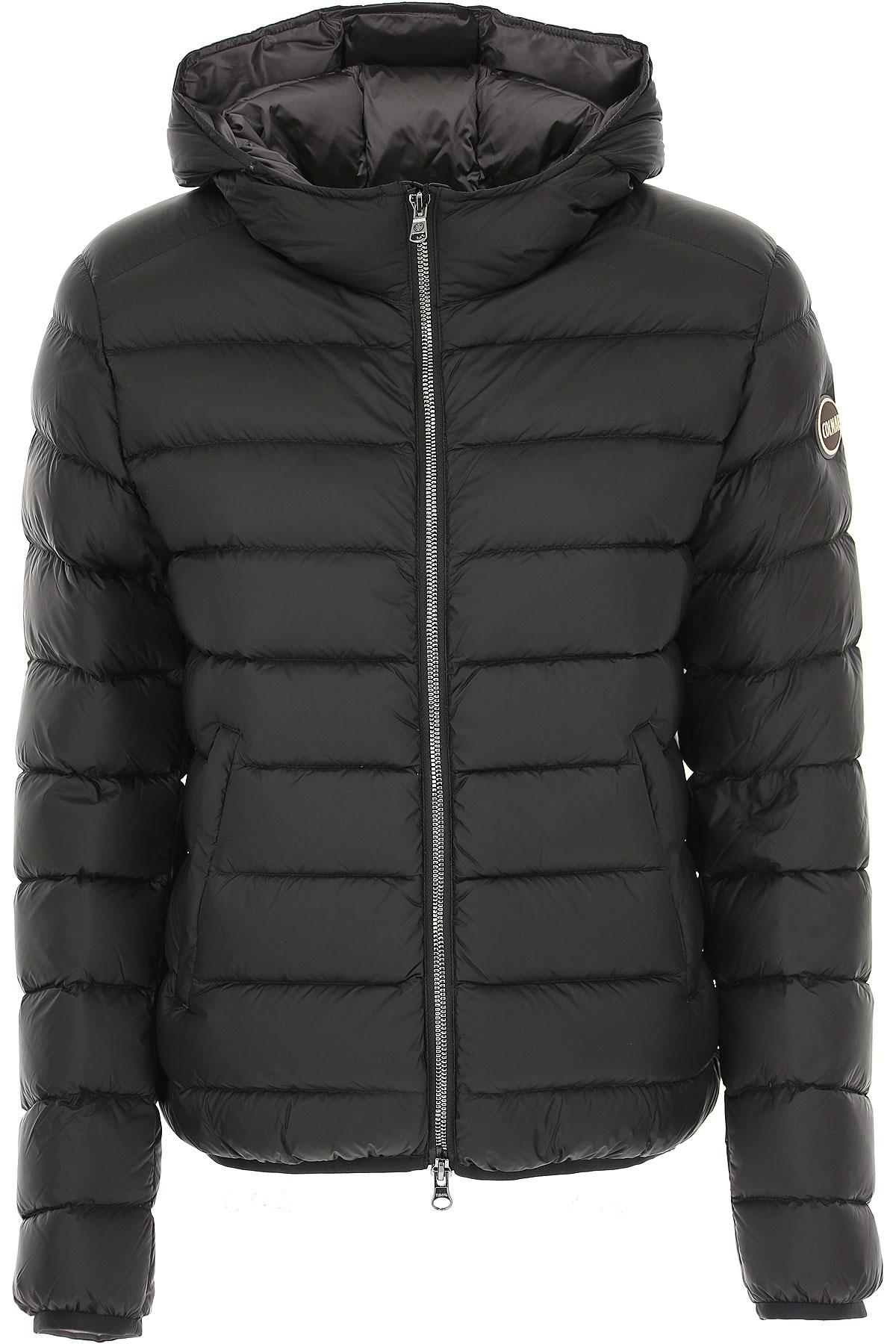 Colmar Down Jacket for Women, Puffer Ski Jacket On Sale, Black, Down, 2019, 2 4