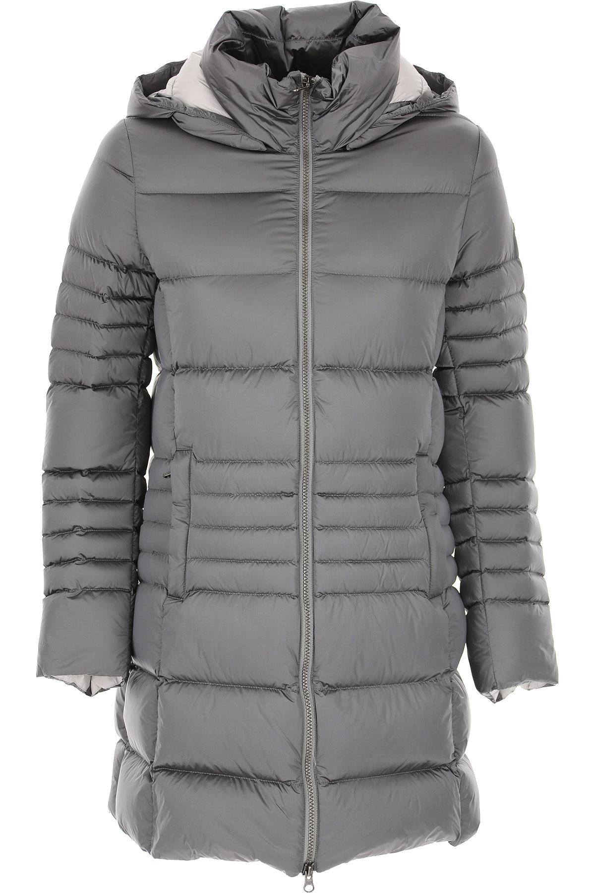Colmar Down Jacket for Women, Puffer Ski Jacket, Medium Pearl Grey, polyamide, 2019, 12 6