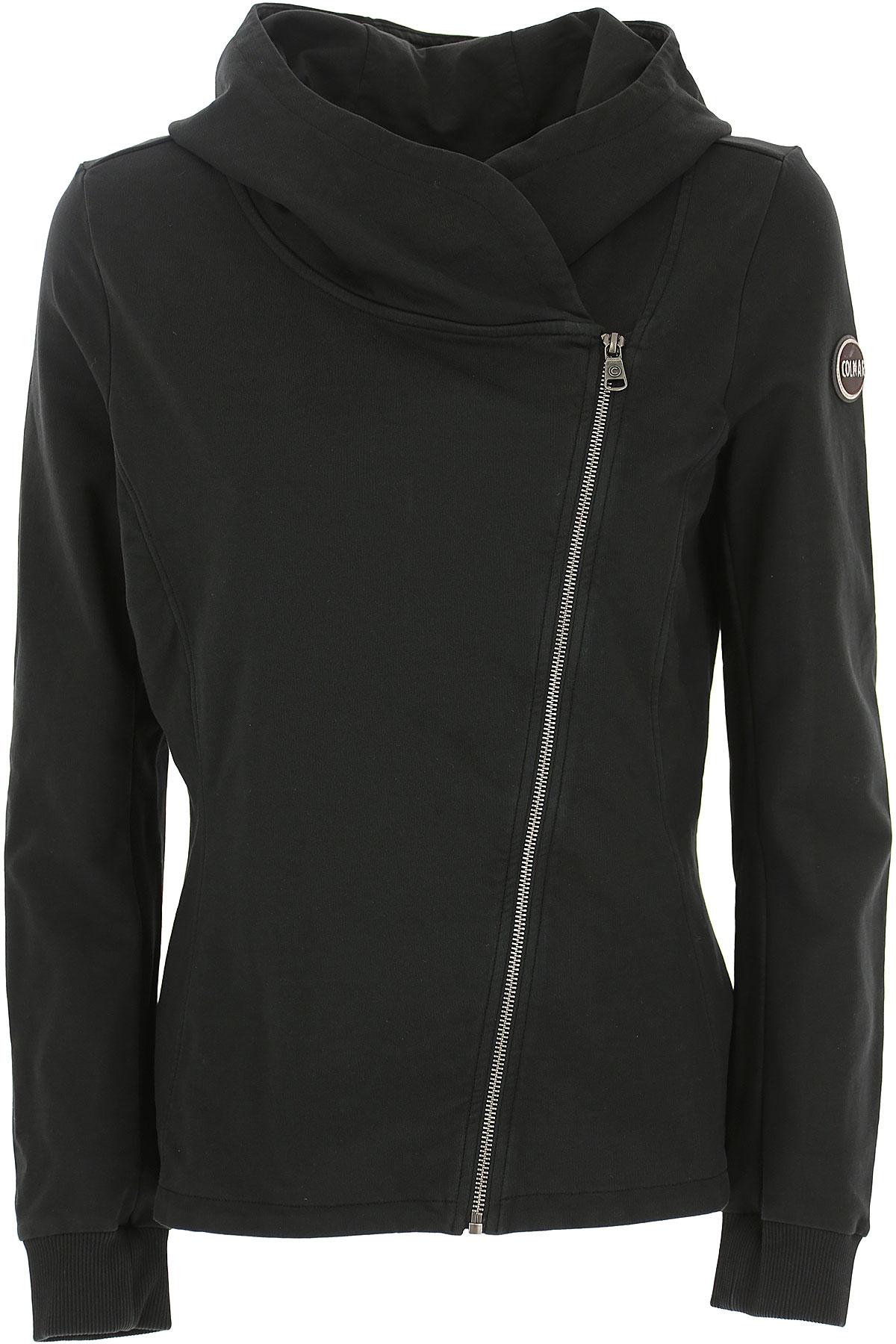 Colmar Sweatshirt Voor Dames In Aanbieding, Zwart, Katoen, 2019, 38 40 M