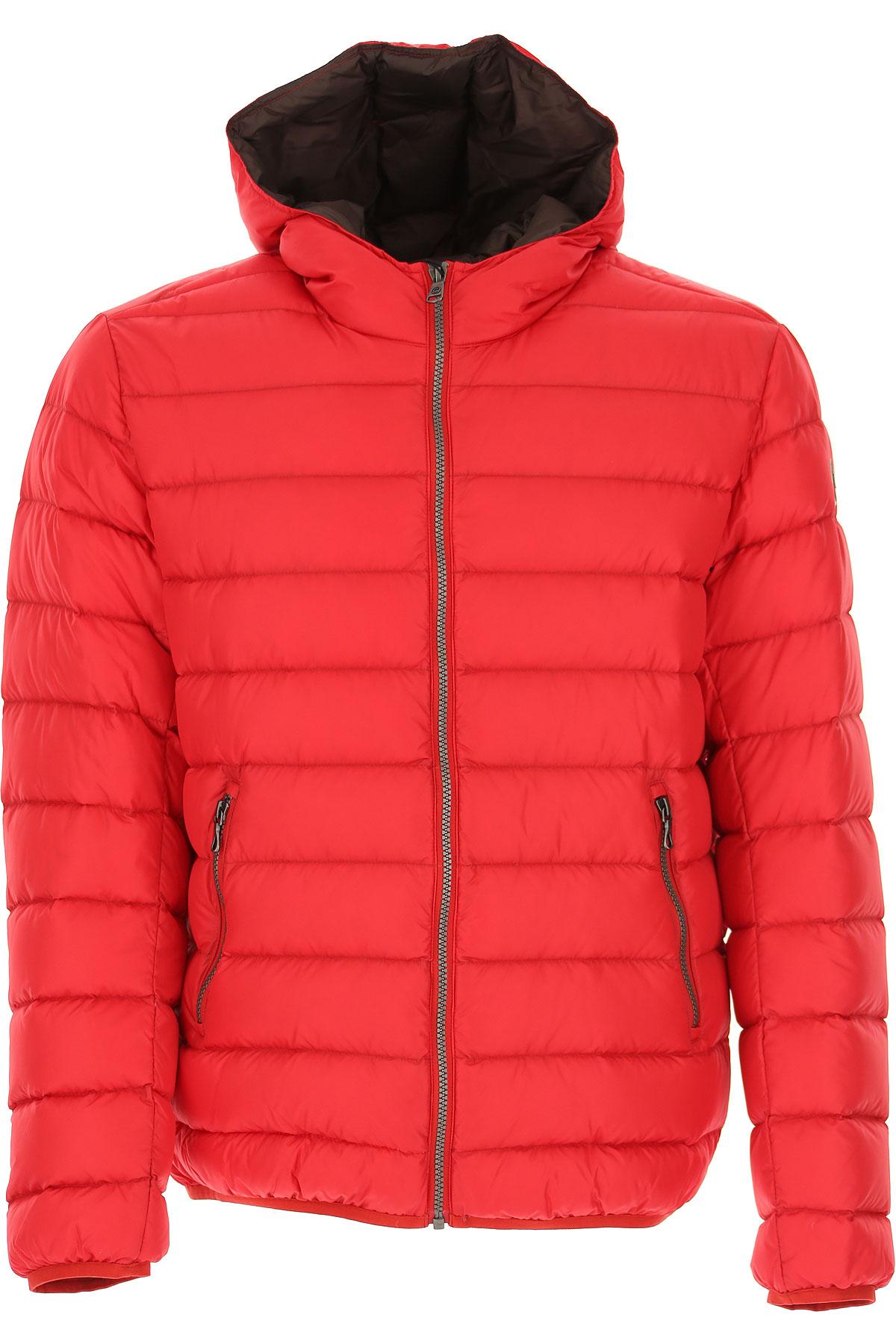 Colmar Down Jacket for Men, Puffer Ski Jacket On Sale, Red, polyamide, 2019, L M XL