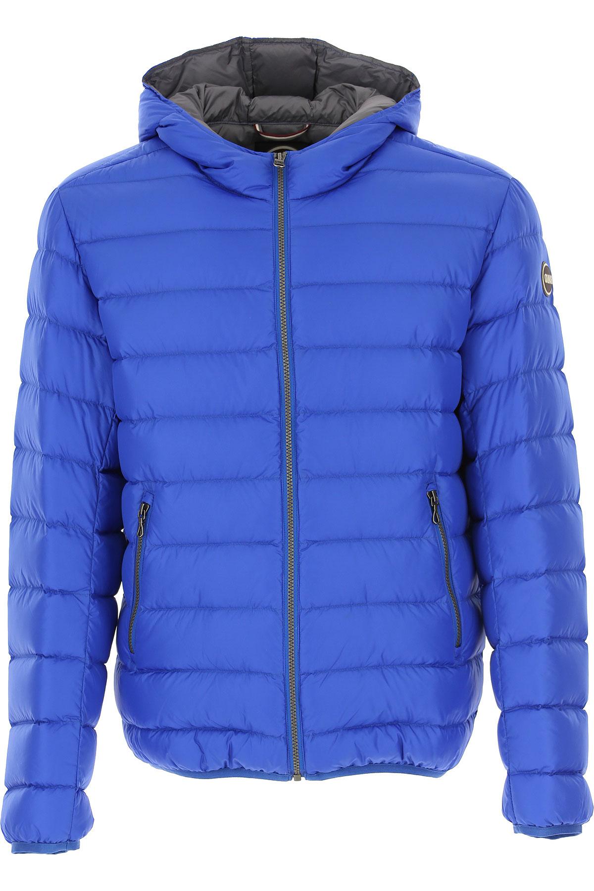 Colmar Down Jacket for Men, Puffer Ski Jacket, Abyss Blue, polyamide, 2019, XL XXL