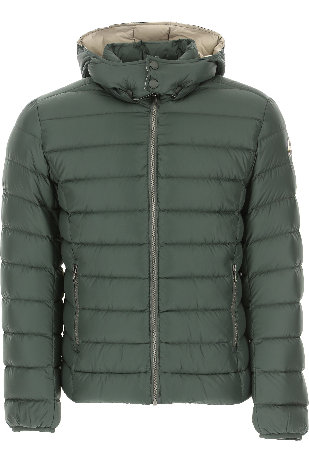 Colmar Down Jacket for Men, Puffer Ski Jacket On Sale, Dark Bottle Green, polyester, 2019, L M S XXL