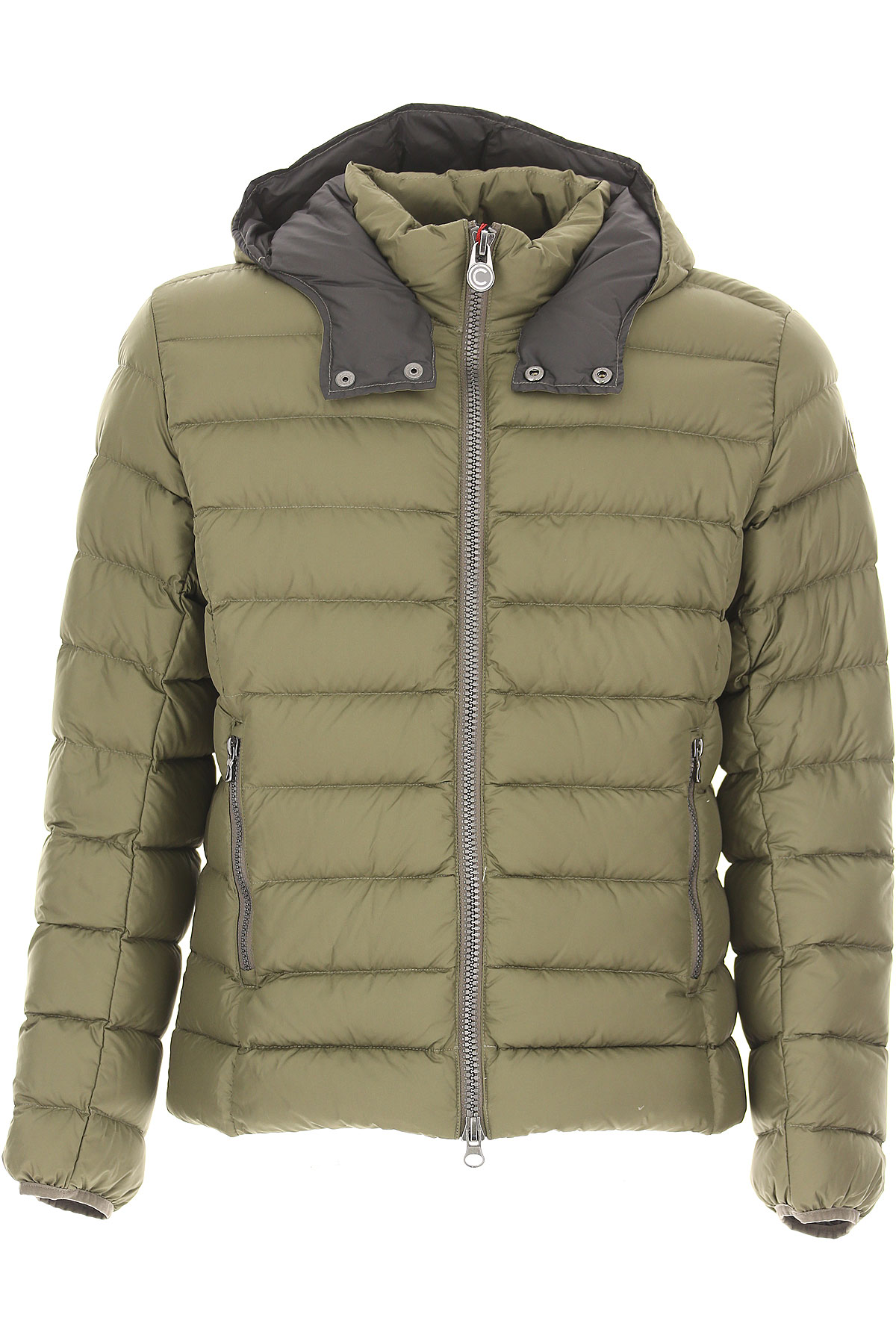 Colmar Down Jacket for Men, Puffer Ski Jacket On Sale, Military Green, Down, 2017, XL XXL USA-420760