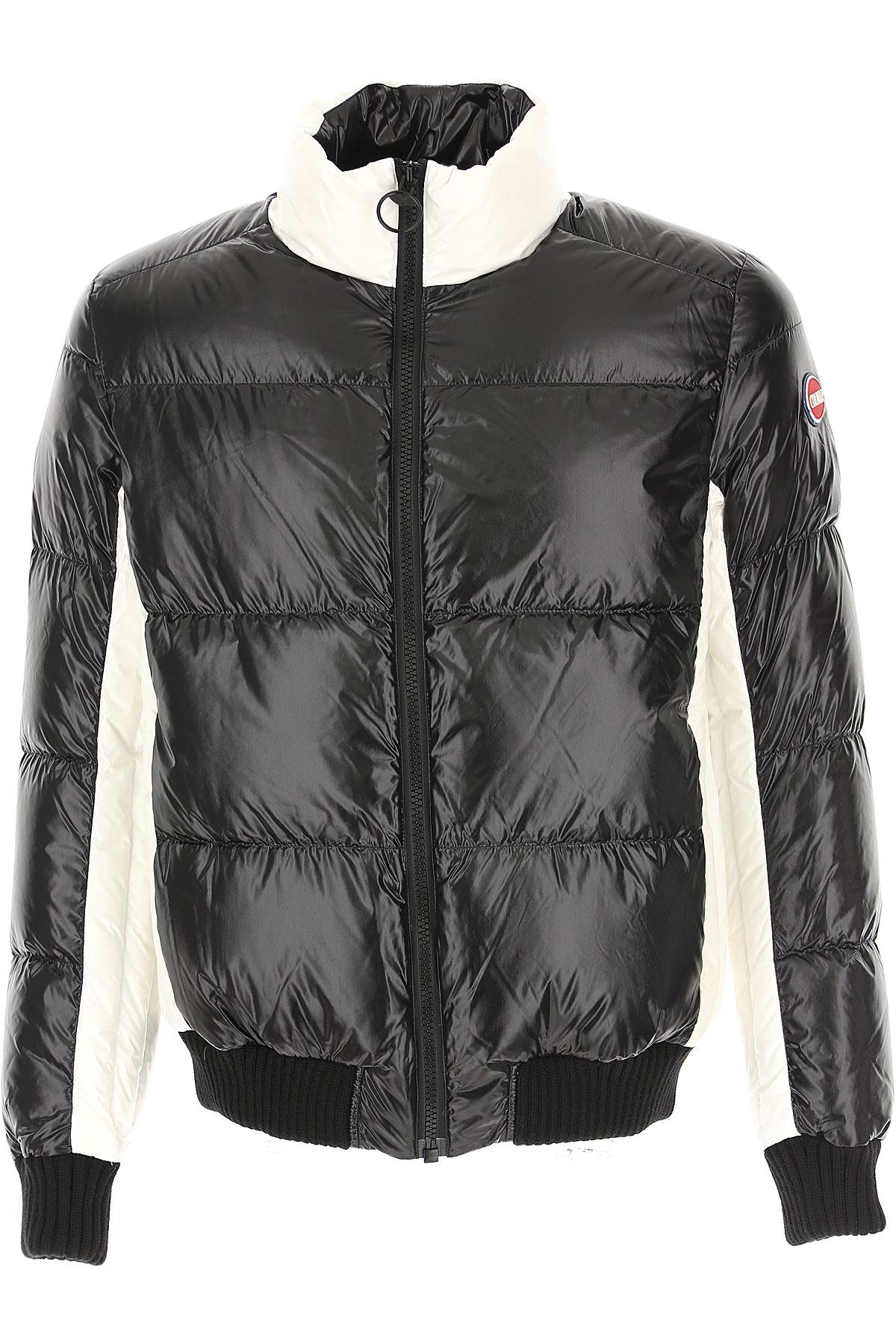 Colmar Down Jacket for Men, Puffer Ski Jacket On Sale, Black, polyester, 2019, M S