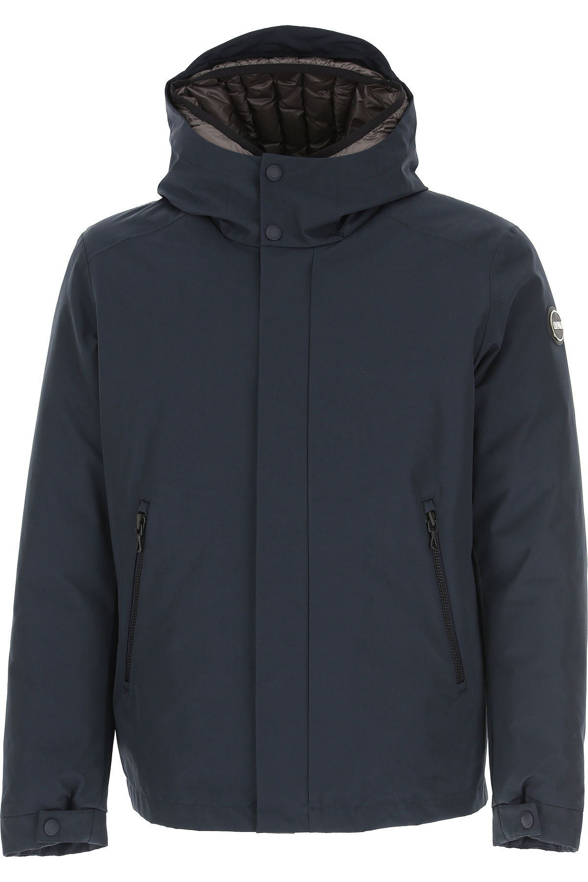 Colmar Down Jacket for Men, Puffer Ski Jacket On Sale, Navy Blue, Down, 2019, L M XL XXL