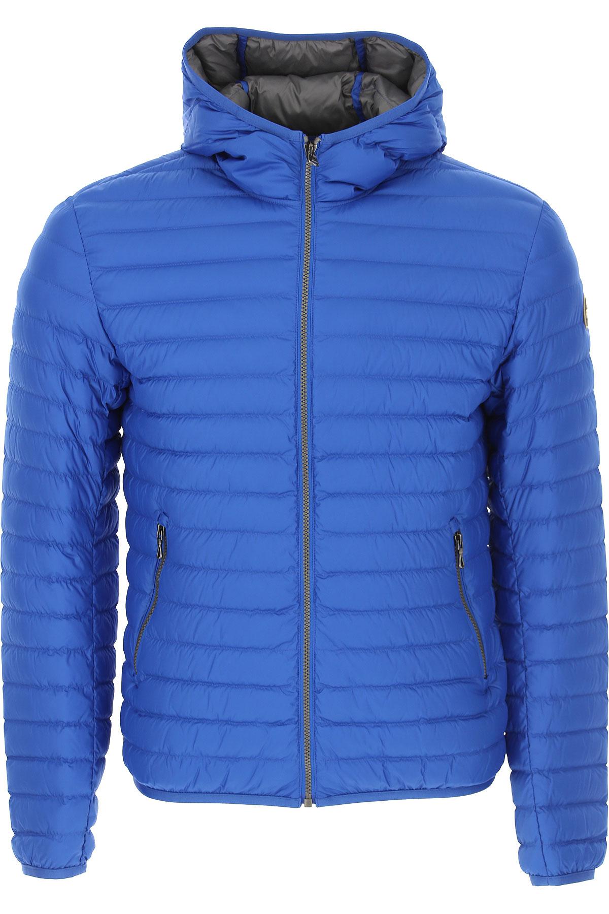 Colmar Down Jacket for Men, Puffer Ski Jacket On Sale, Royal Blue, polyester, 2019, M S XL XXL