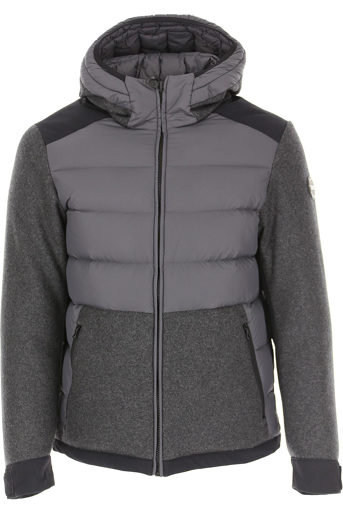 Colmar Down Jacket for Men, Puffer Ski Jacket On Sale, Medium Grey, polyester, 2019, L M S XL XXL
