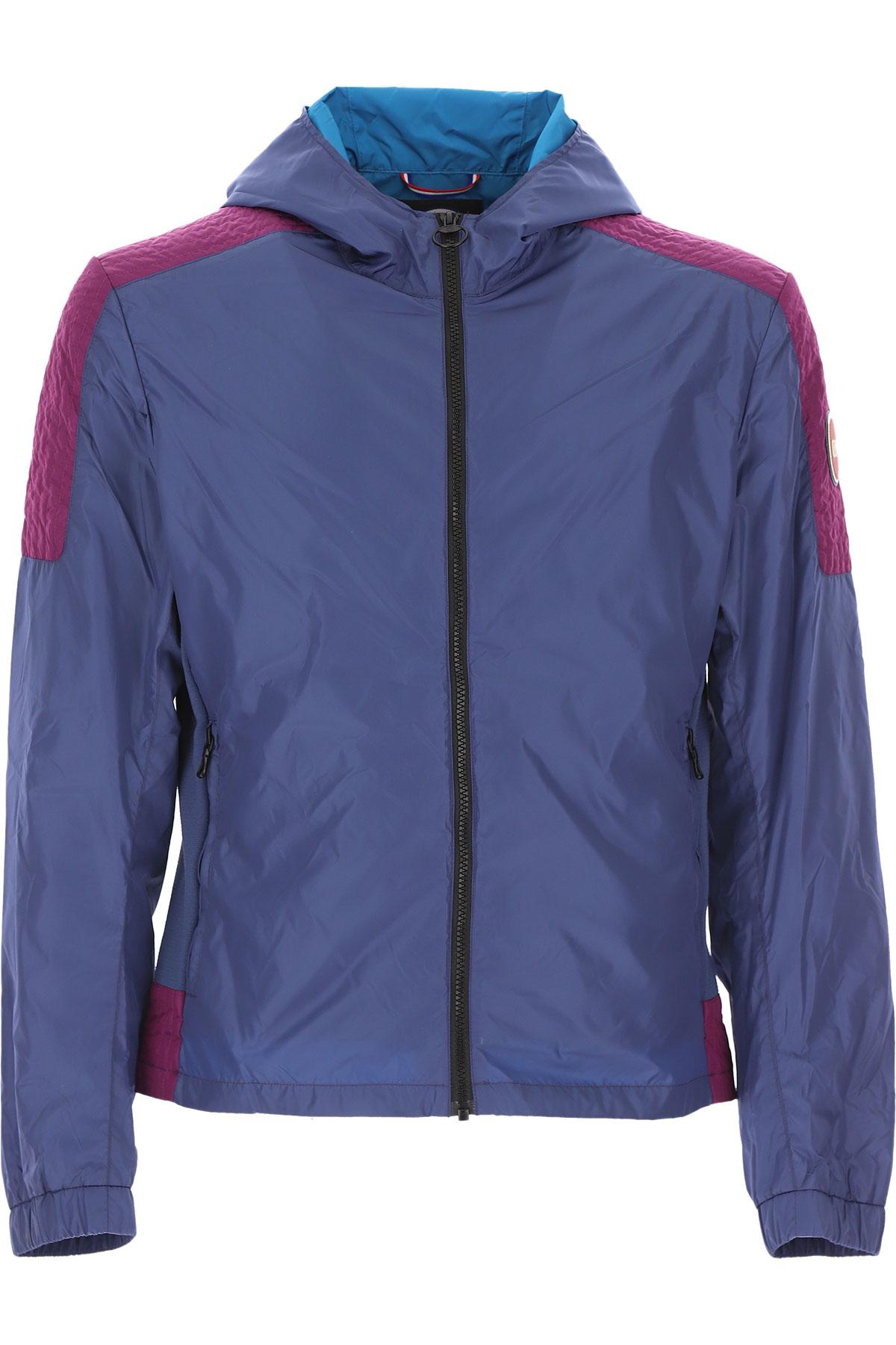 Colmar Jacket for Men On Sale, Avio Blue, polyester, 2019, L XL