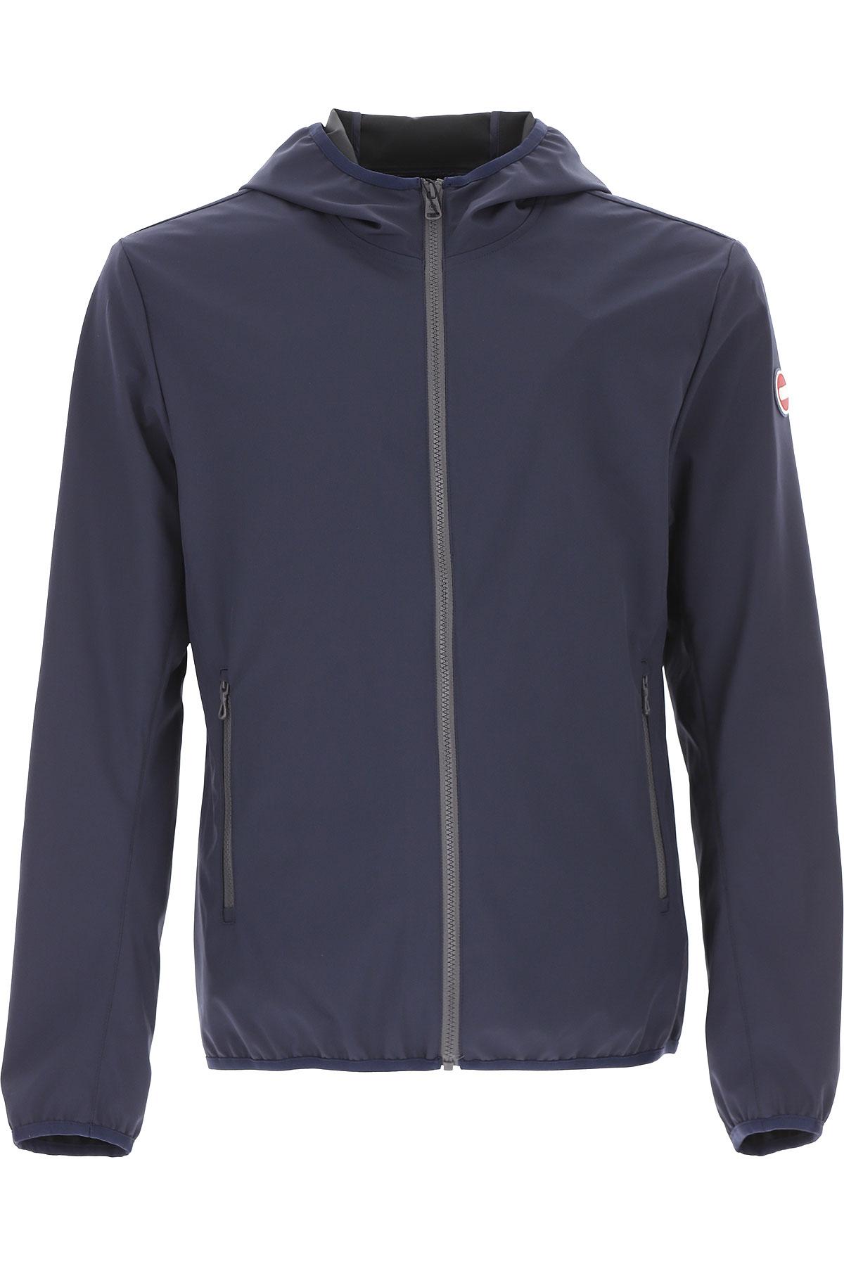 Colmar Jacket for Men On Sale, Navy Blue, polyester, 2019, L S XL XXL