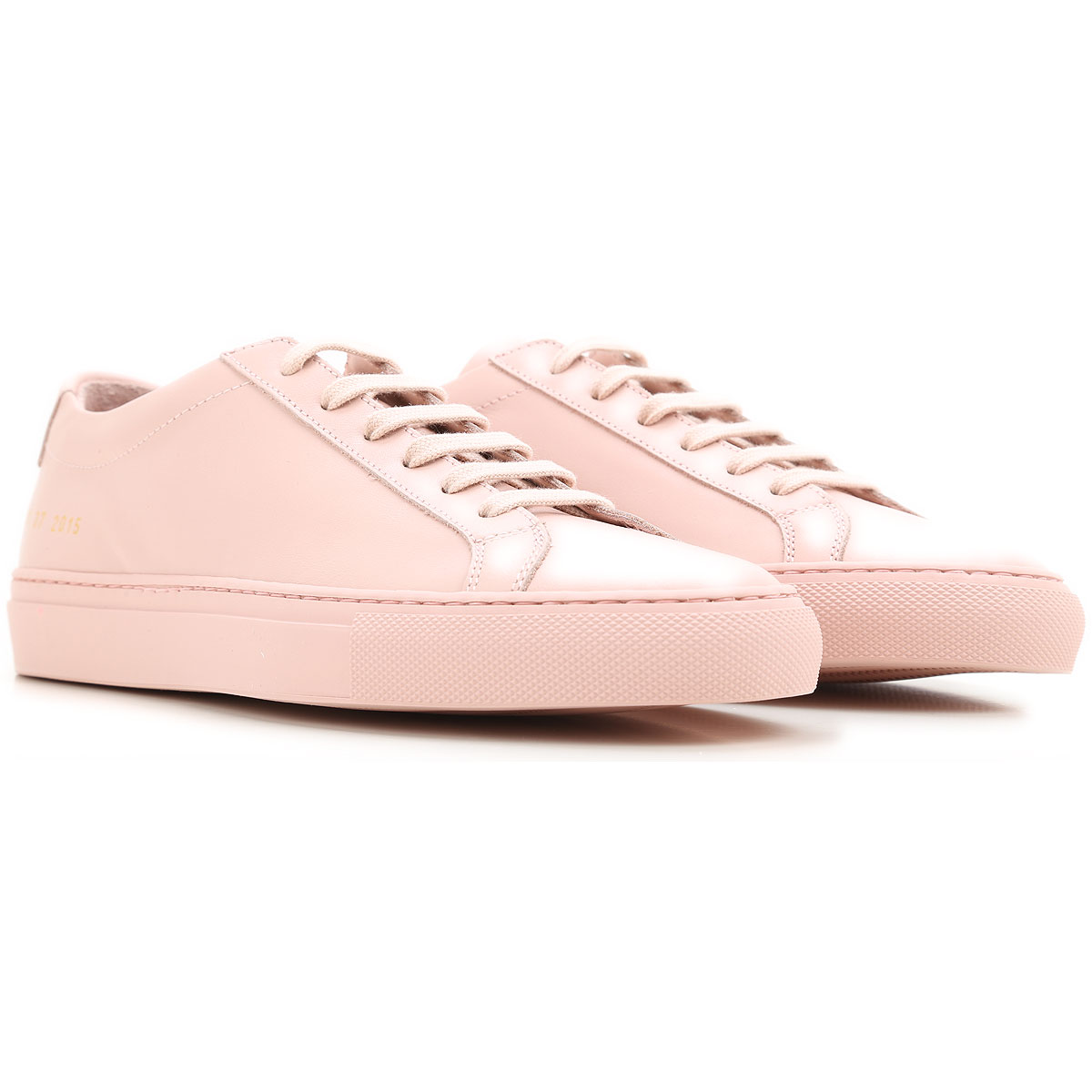 Image of Woman by Common Projects Sneakers for Women, blush, Leather, 2017, 10 5 6 7 8 9