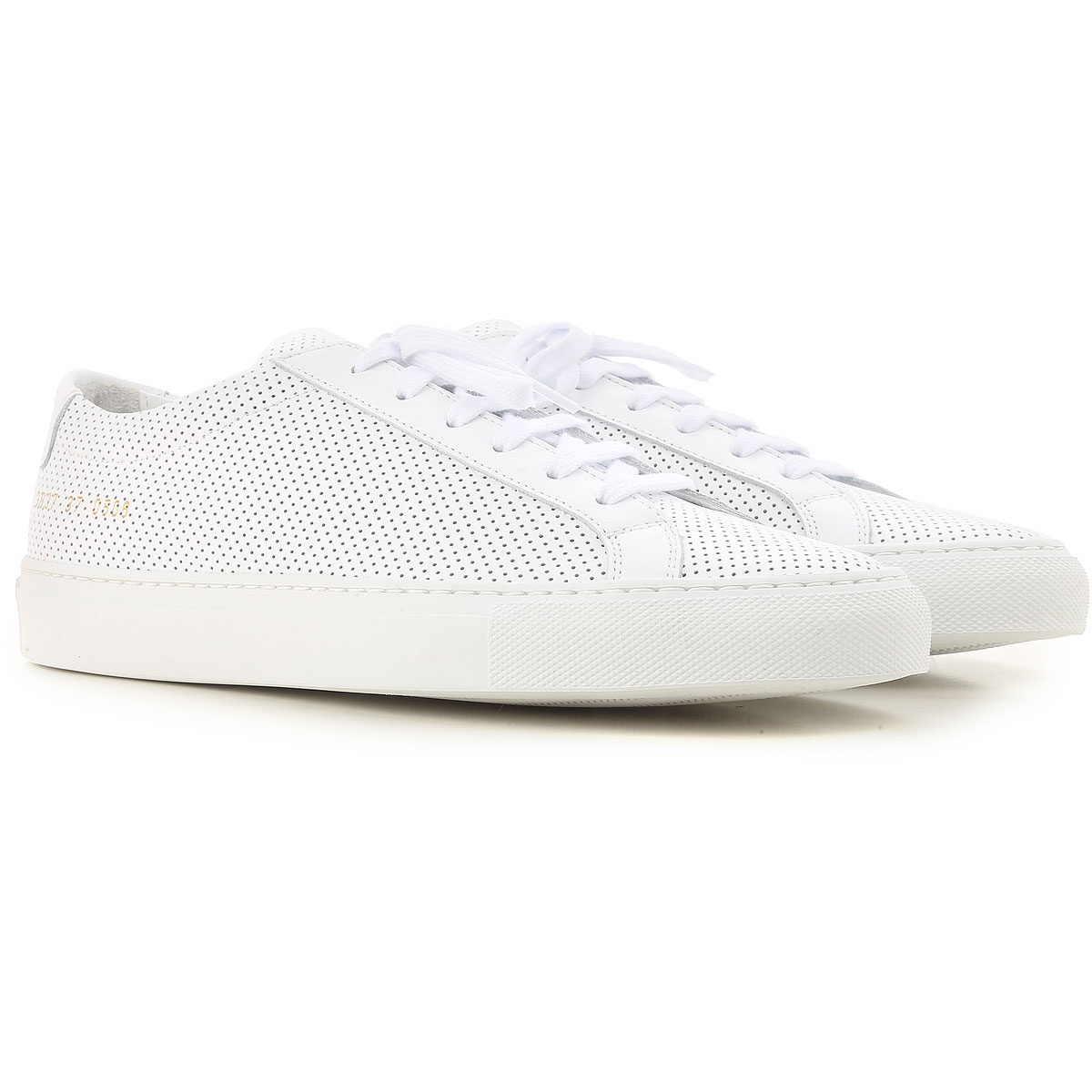 Image of Woman by Common Projects Sneakers for Women On Sale, White, Leather, 2017, 6 8