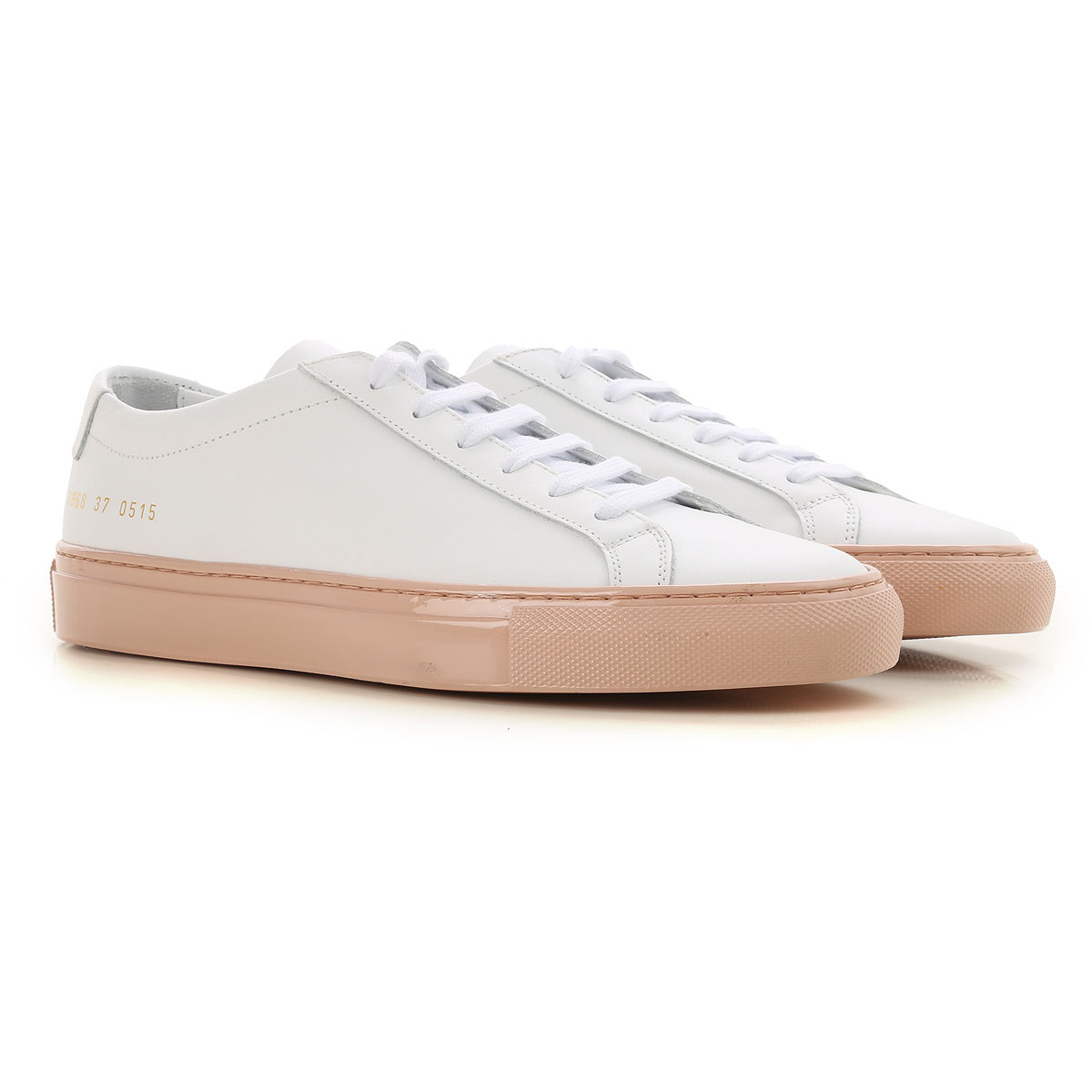 Image of Woman by Common Projects Sneakers for Women, White, Leather, 2017, 6 7 8 9