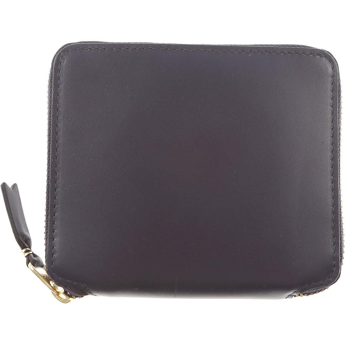 Comme des Garcons Wallet for Women On Sale, navy, Leather, 2019