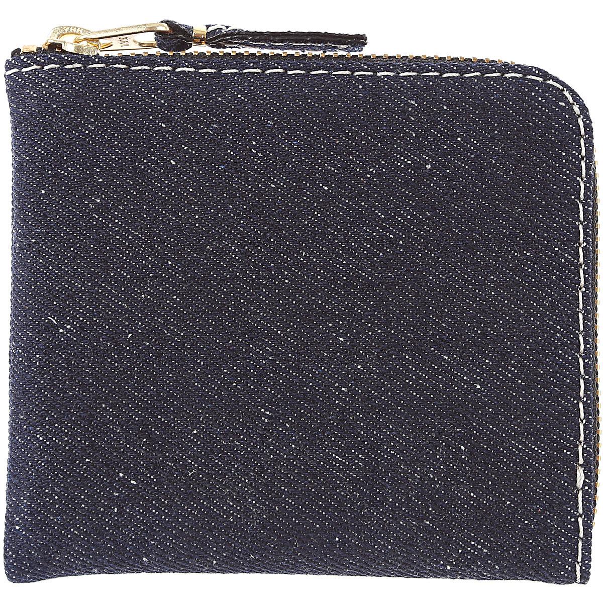 Comme des Garcons Wallet for Men On Sale, Denim Jeans, Cotton, 2019