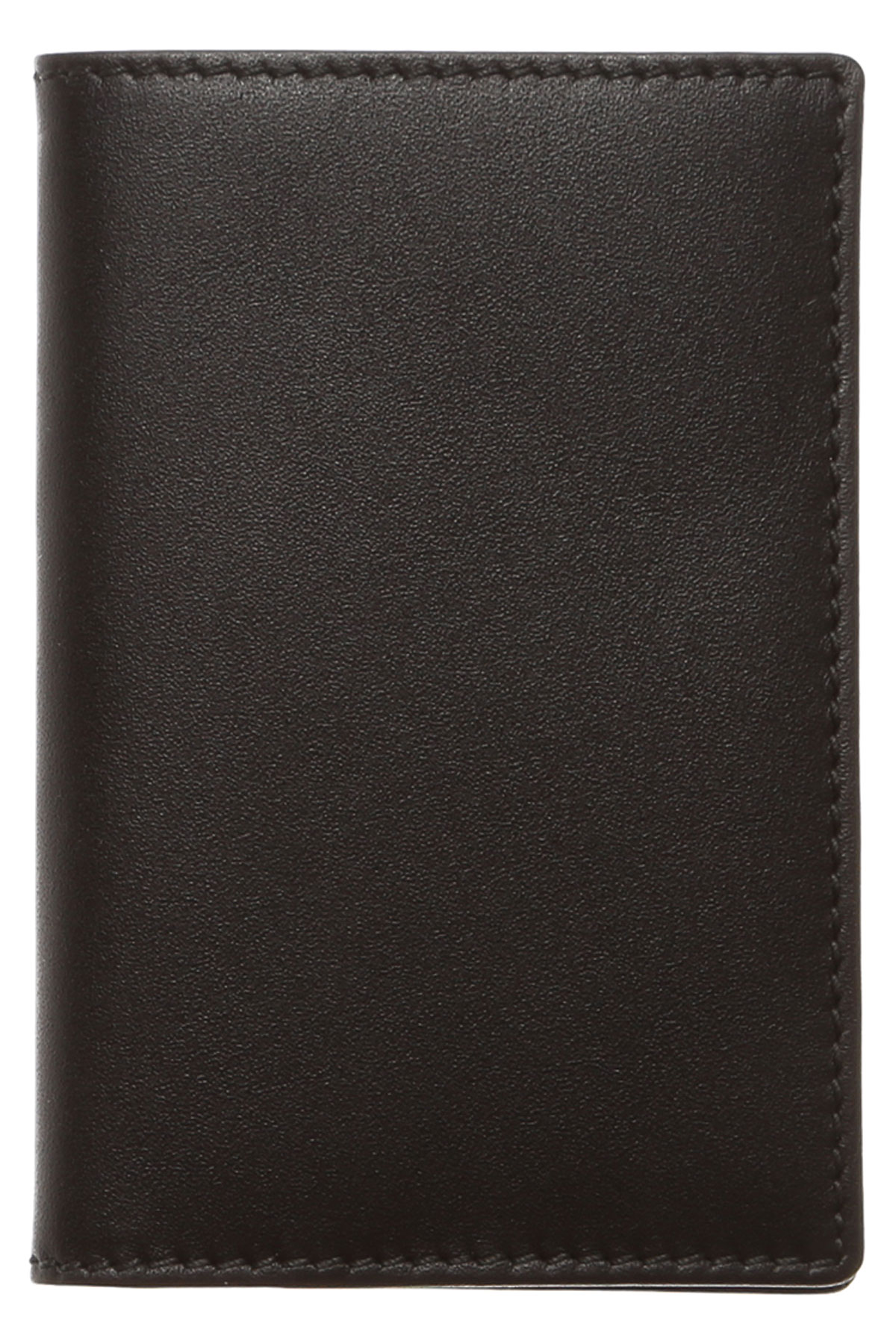 Comme des Garcons Card Holder for Women On Sale, Black, Leather, 2019, one size One size