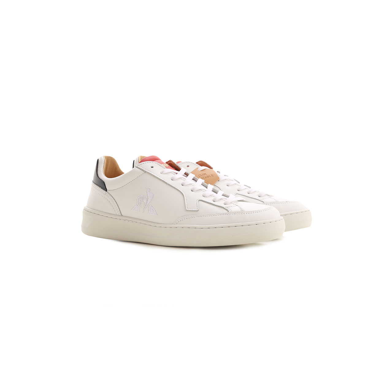 Le Coq Sportif Sneakers for Men On Sale, White, Leather, 2019, 10 10.5 11.5 7.5 8 9