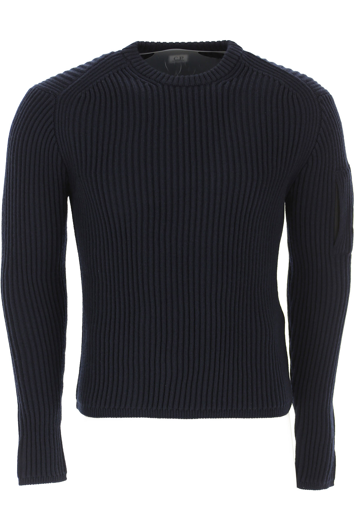 C.P. Company Sweater for Men Jumper On Sale, Dark Navy Blue, Wool, 2019, L M