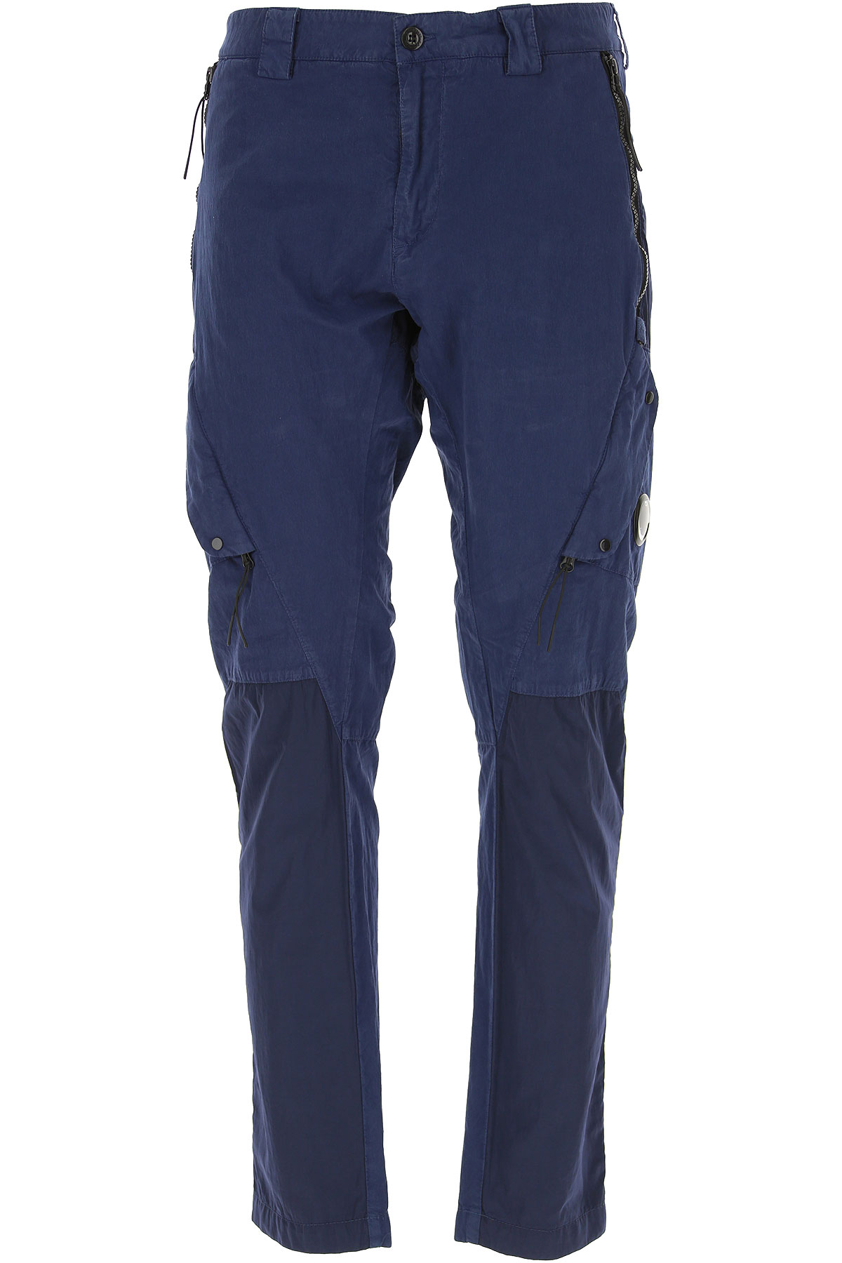 C.P. Company Pants for Men On Sale, Navy Blue, Cotton, 2019, 32 34 36