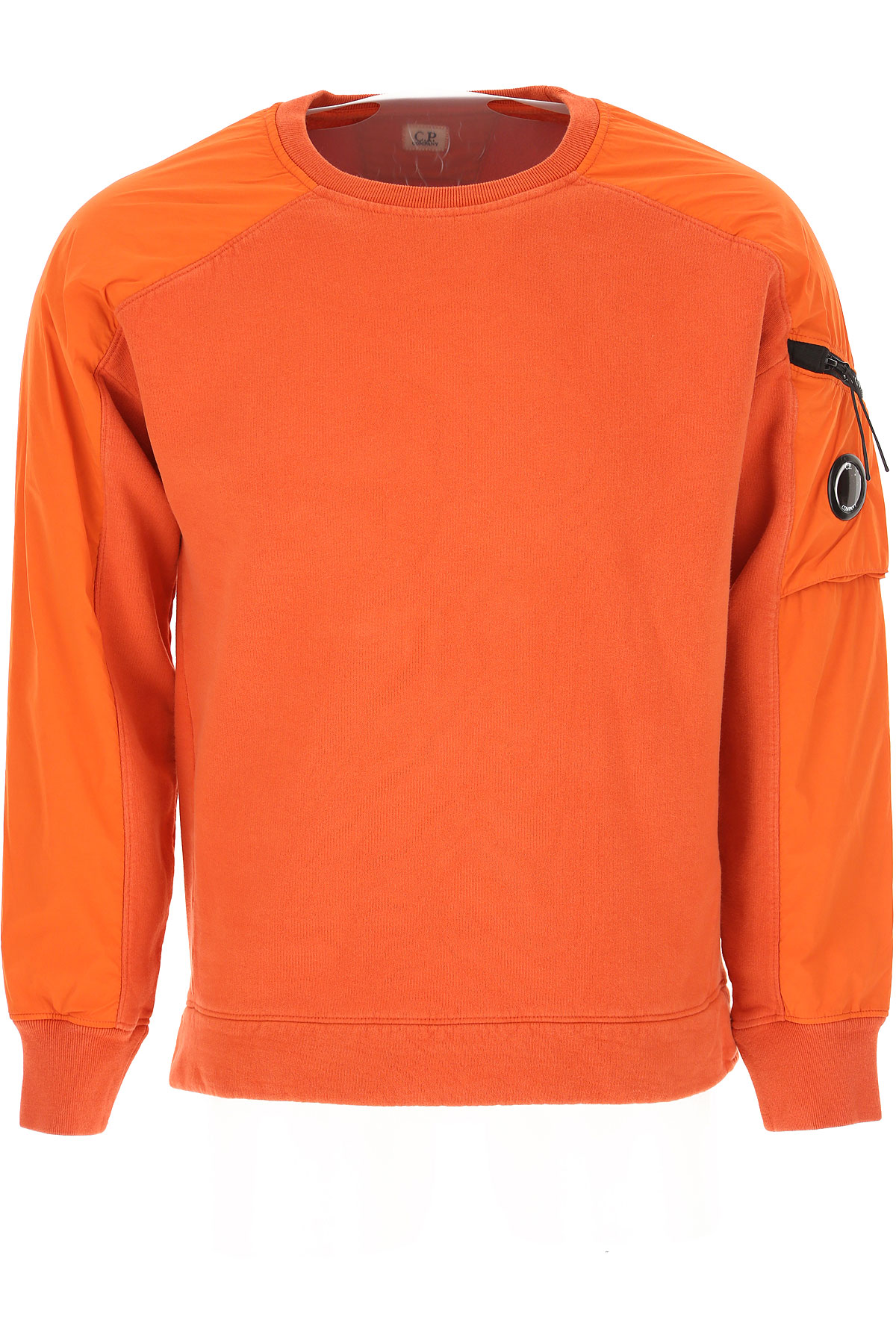 C.P. Company Sweatshirt for Men On Sale, Dark Orange, Cotton, 2019, L M
