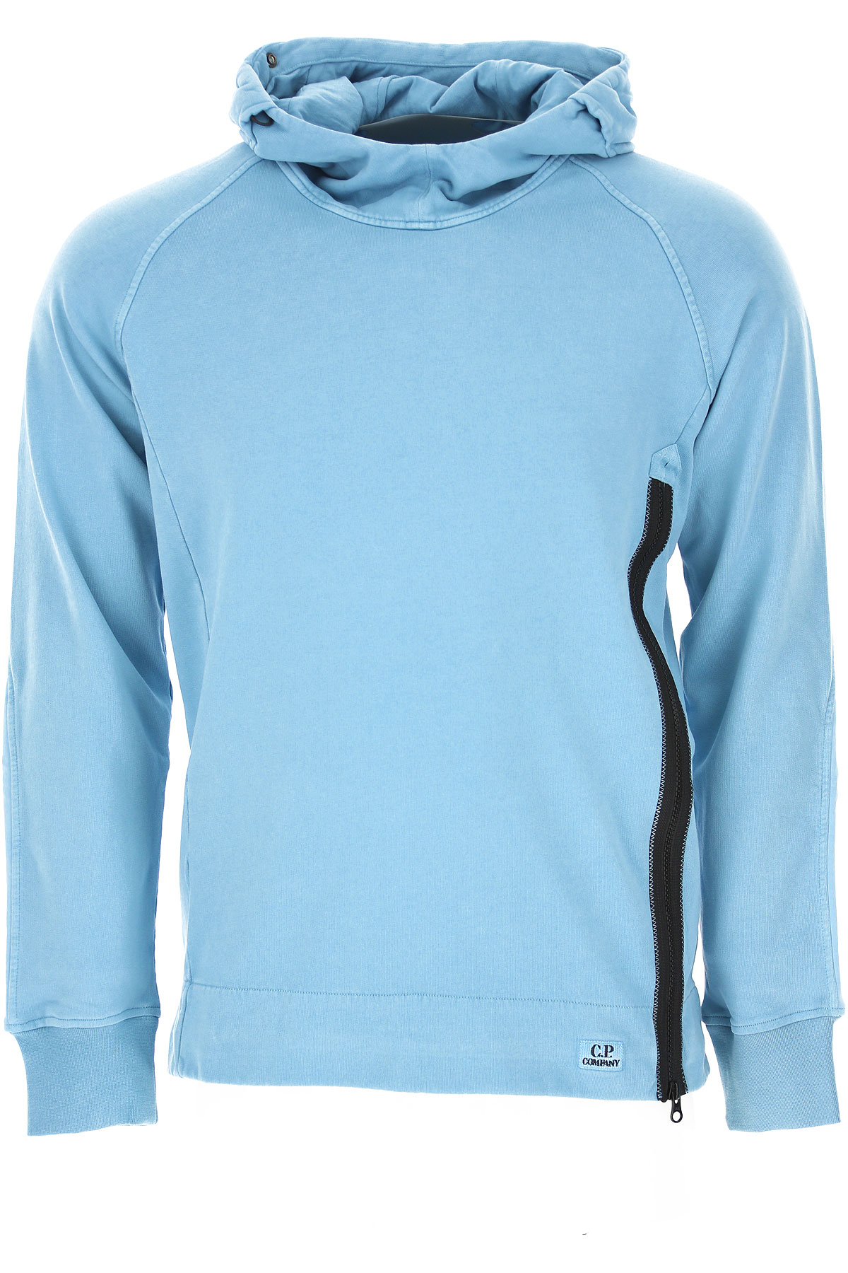 C.P. Company Sweatshirt for Men On Sale, Light Blue, Cotton, 2019, L M S