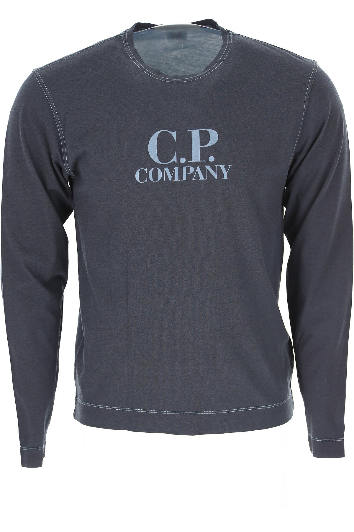 C.P. Company T-Shirt for Men On Sale, Dark Grey, Cotton, 2019, L M