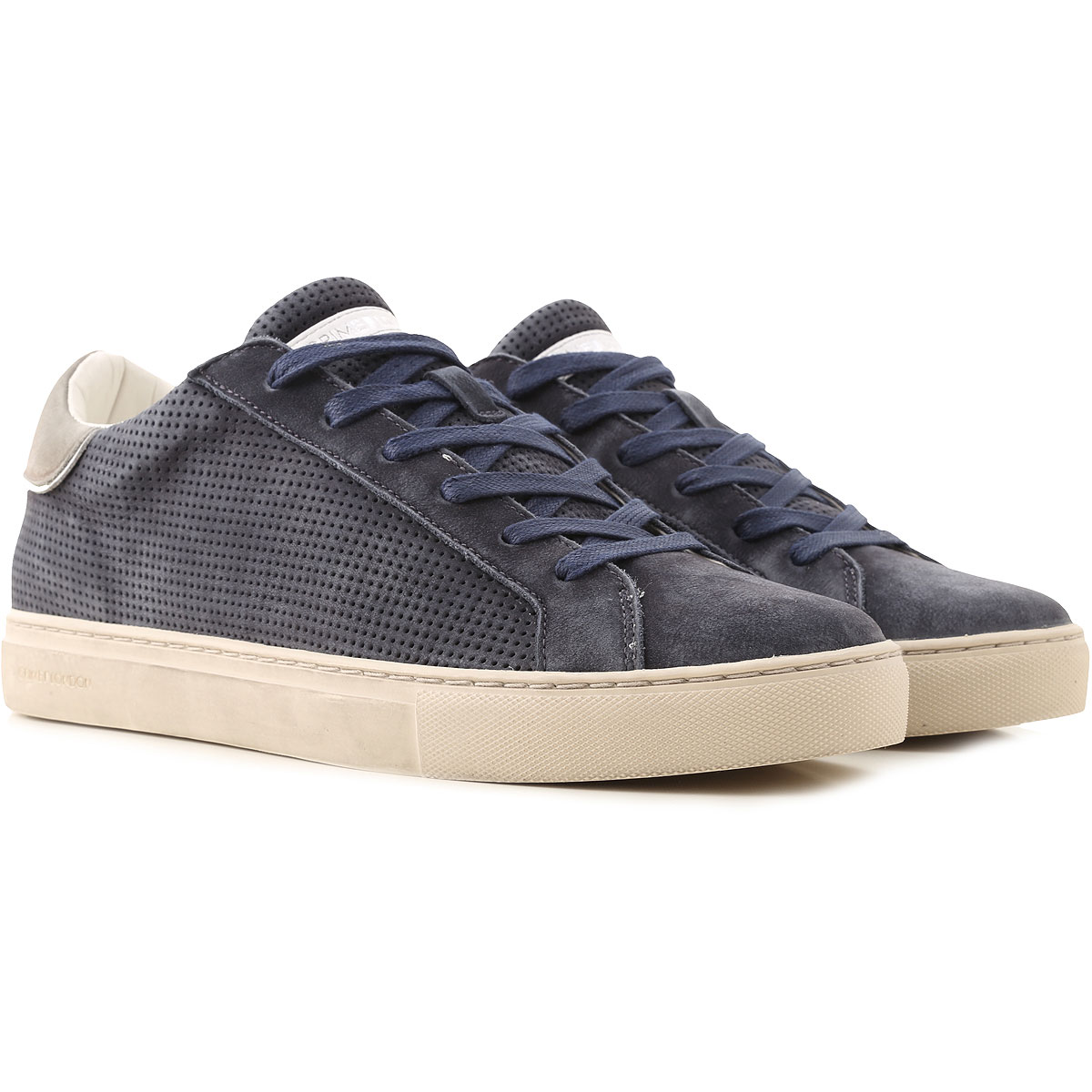 Crime Sneakers for Men On Sale, navy, Suede leather, 2019, 10.5 8 9