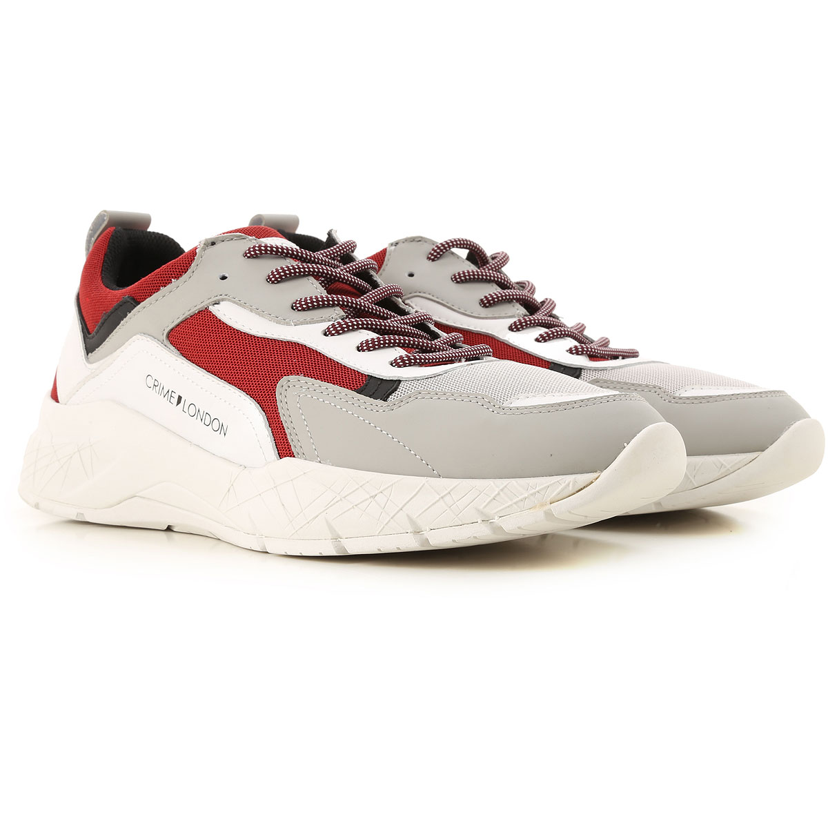 Crime Sneakers for Men On Sale, White, Fabric, 2019, 10.5 7.5 9