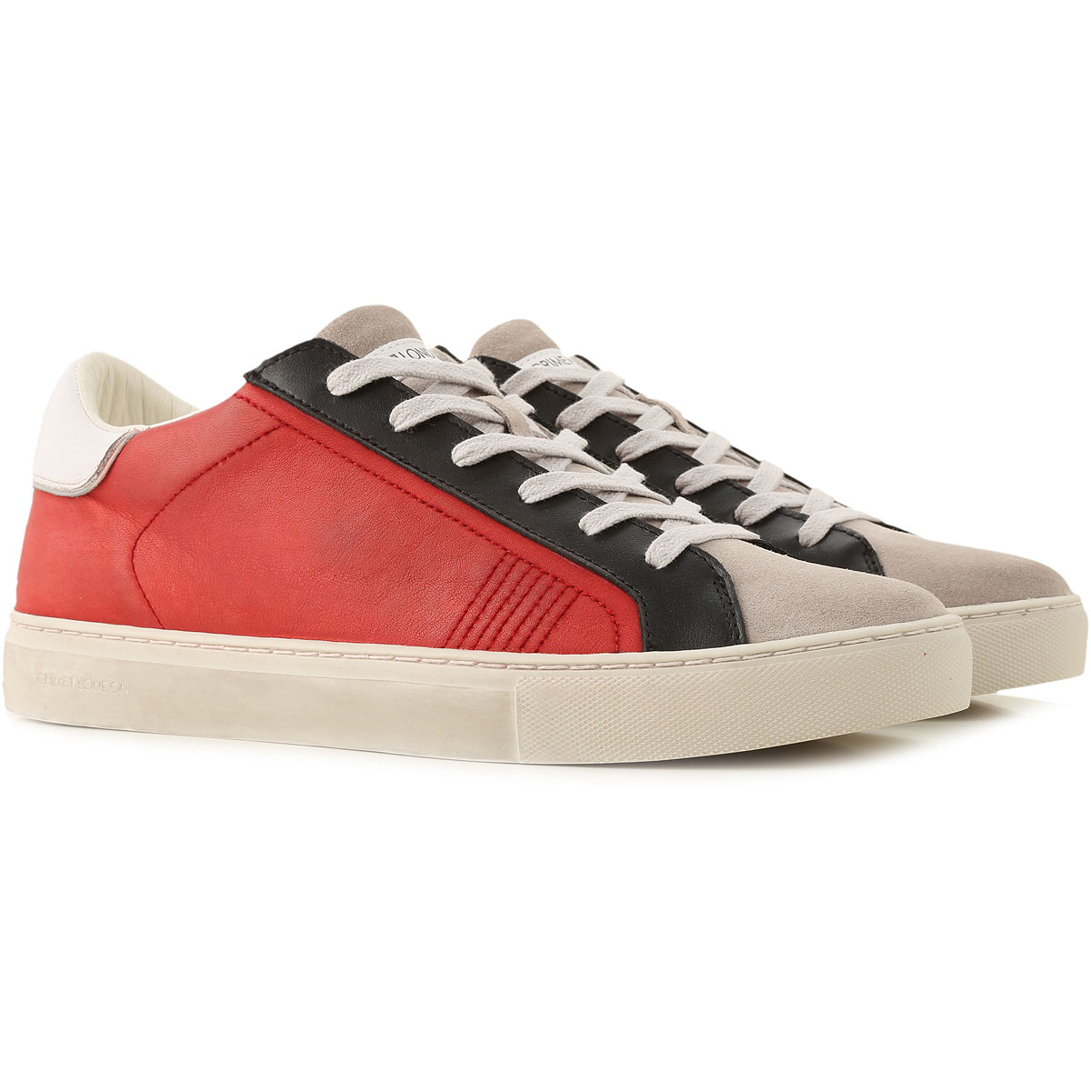 Crime Sneakers for Men On Sale, Dark Amaranth Red, Leather, 2019, 10 10.5 7.5 8 9