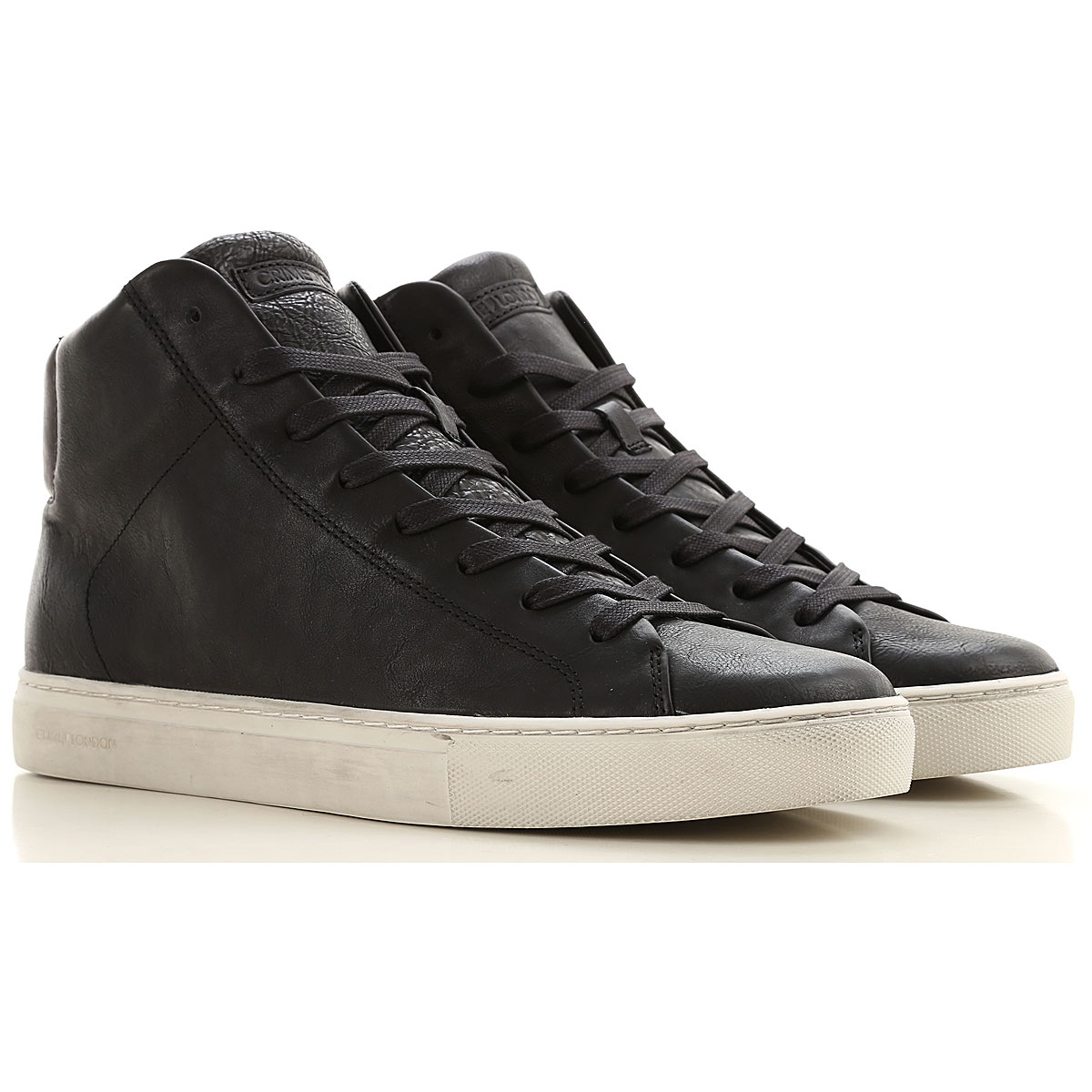 Crime Sneakers for Men On Sale, Black, Leather, 2019, 10.5 11.5 7.5 8 9