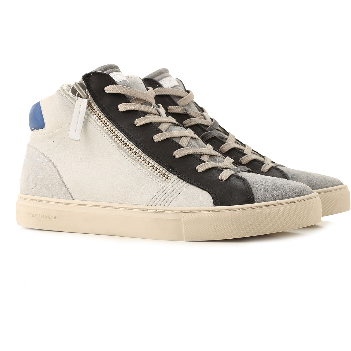 Crime Sneakers for Men On Sale, Grey, Leather, 2019, 10 10.5 11.5 7.5 8 9