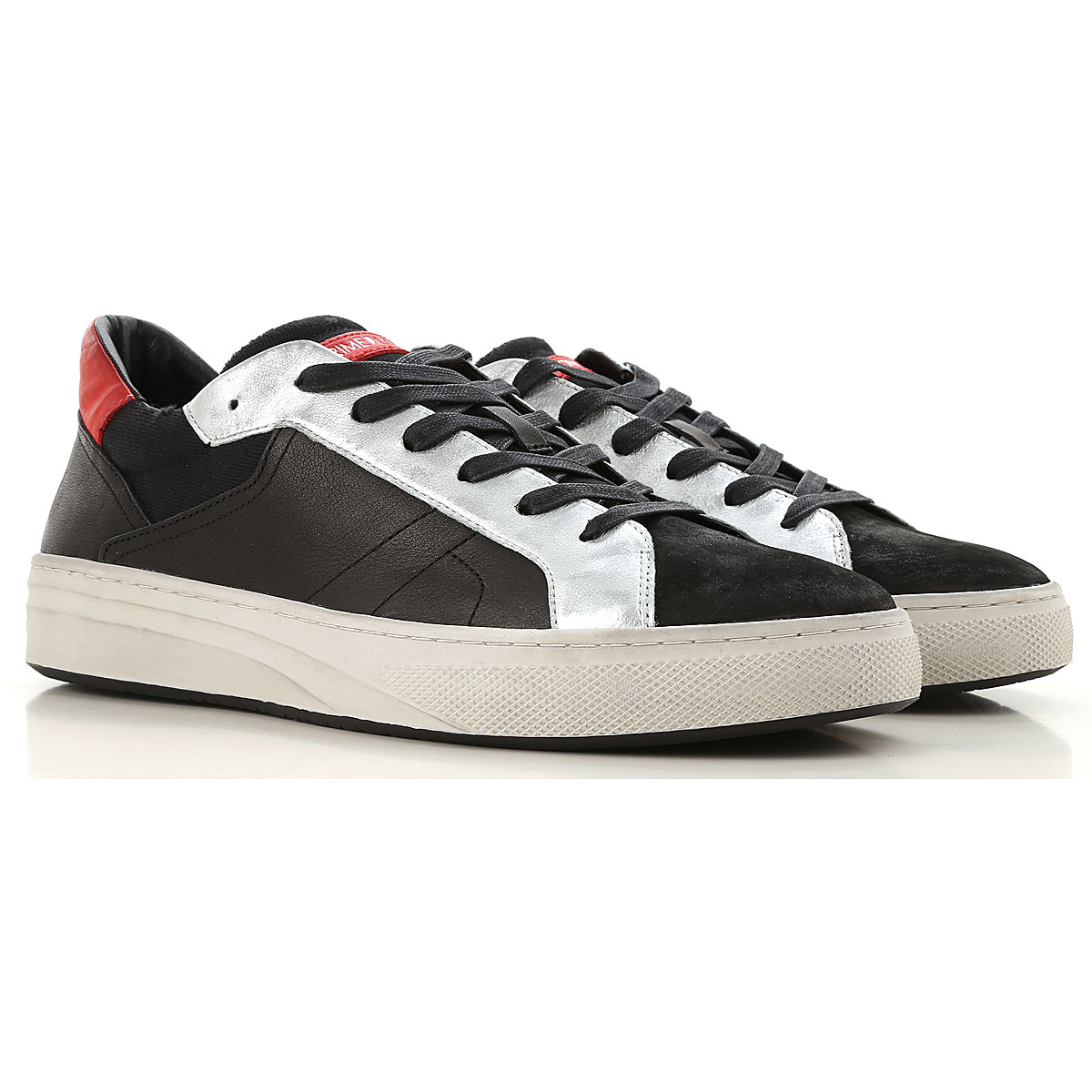 Image of Crime Sneakers for Men, Black, Leather, 2017, 10 11.5 8 9