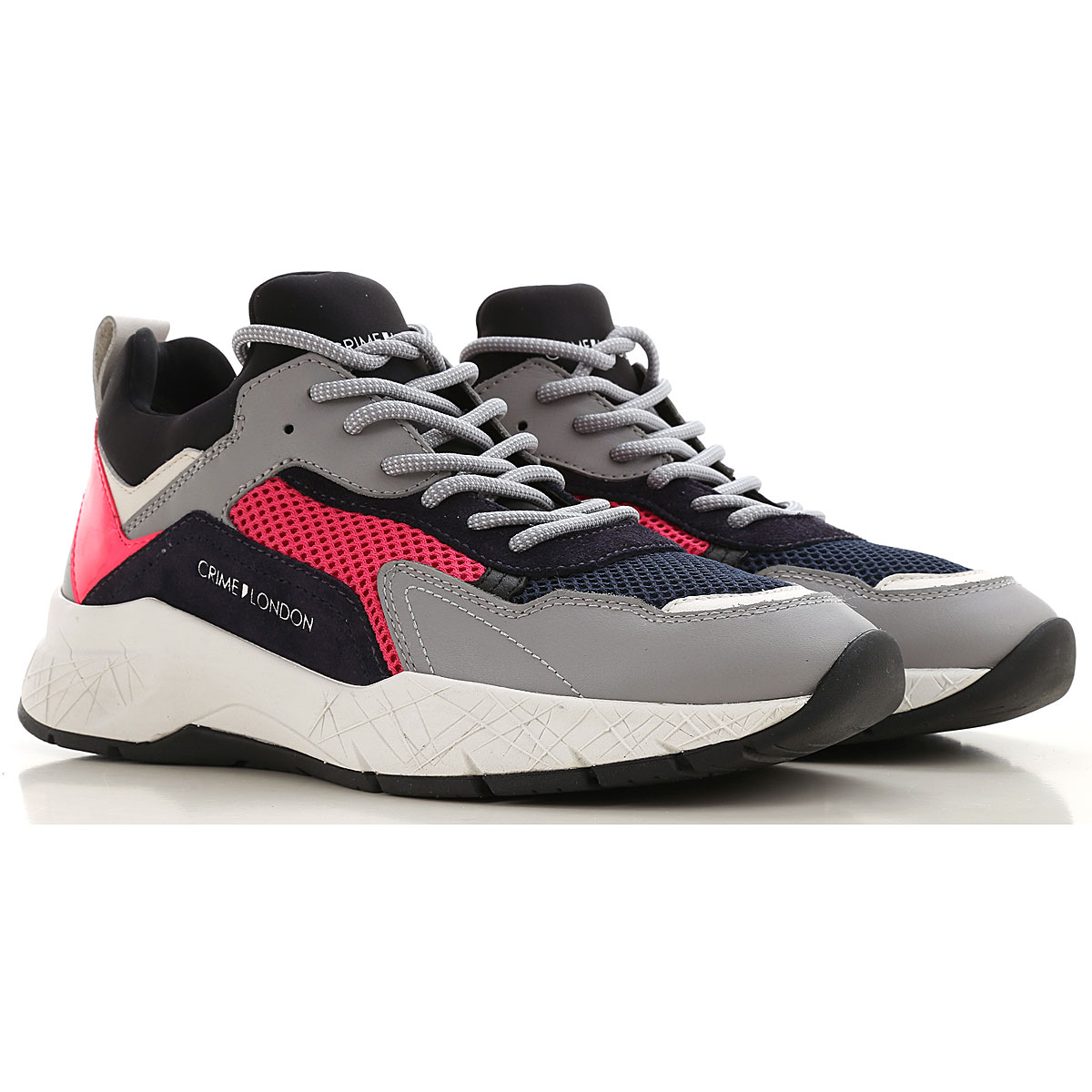 Crime Sneakers for Women On Sale, fuxia, Leather, 2019, 10 7 8 9