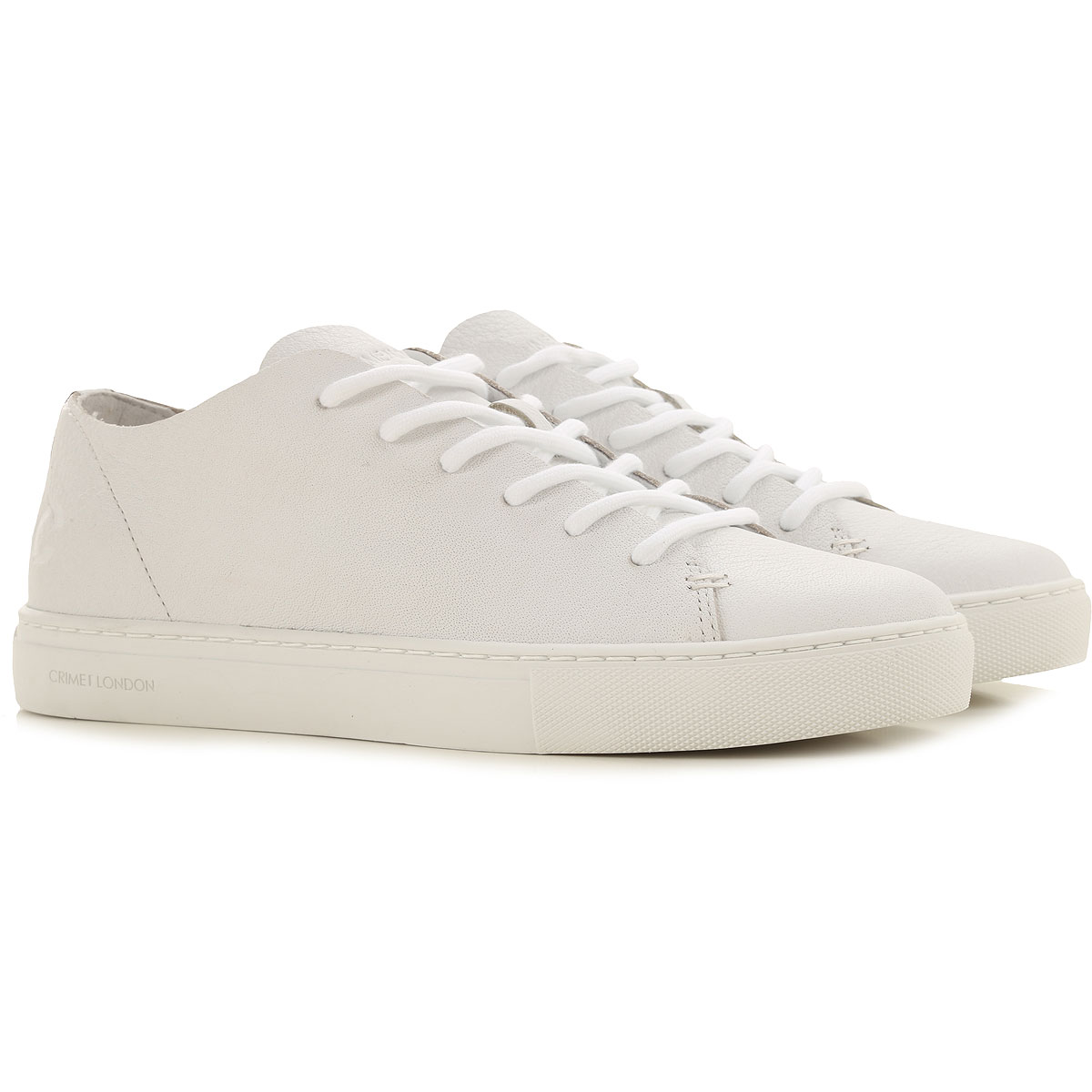 Crime Sneakers for Women On Sale, White, Leather, 2019, 10 6 7 8 9
