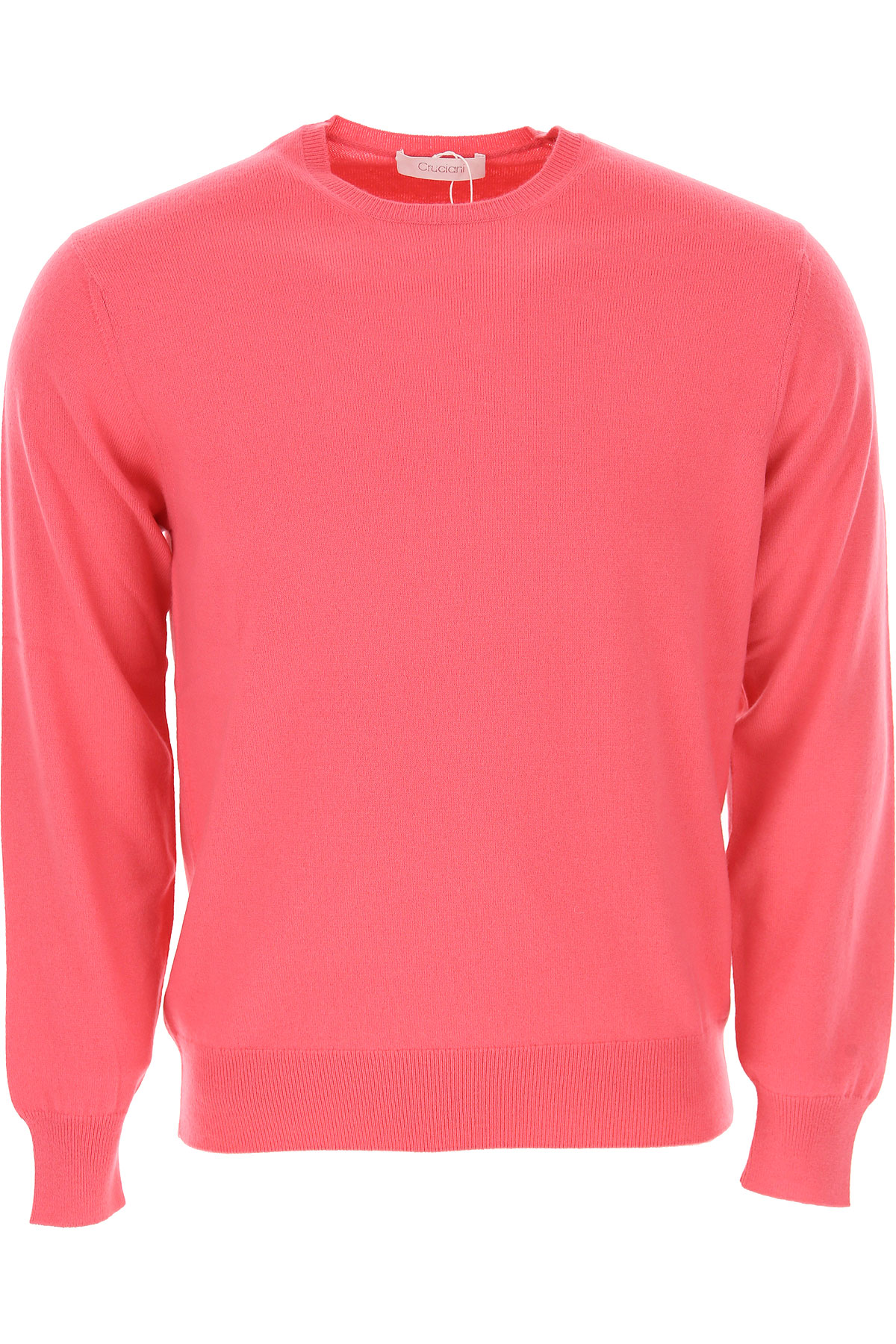Image of Cruciani Sweater for Men Jumper, Coral Pink, Cashmere, 2017, L M S XL XXL
