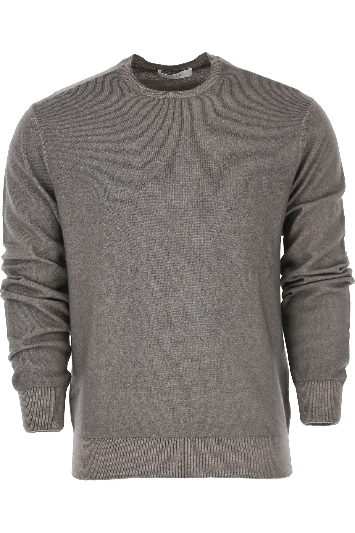 Image of Cruciani Sweater for Men Jumper, Anthracite Grey, Cashemere, 2017, L M XL