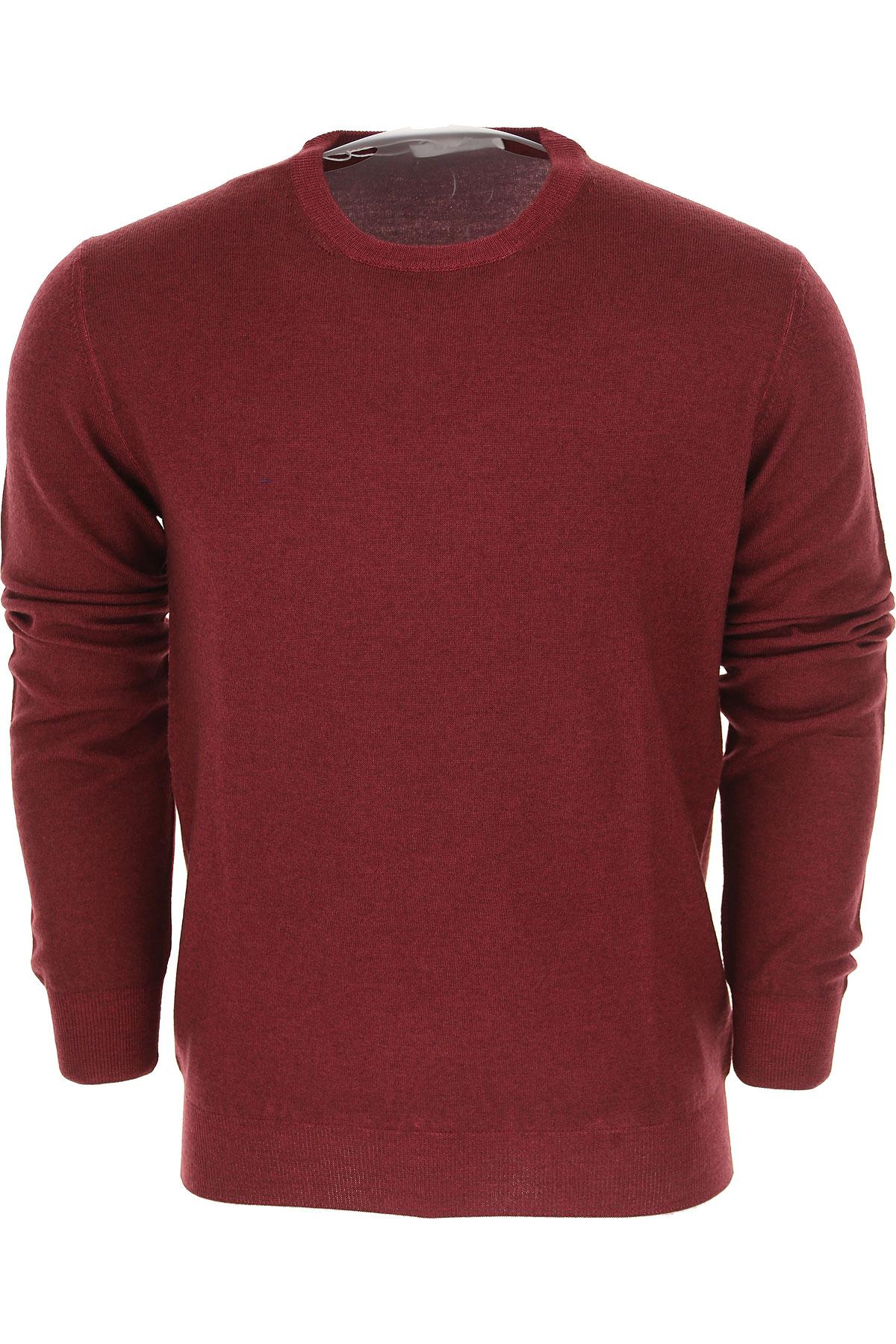 Image of Cruciani Sweater for Men Jumper, Bordeaux, Wool, 2017, L M S XL XXL XXXL