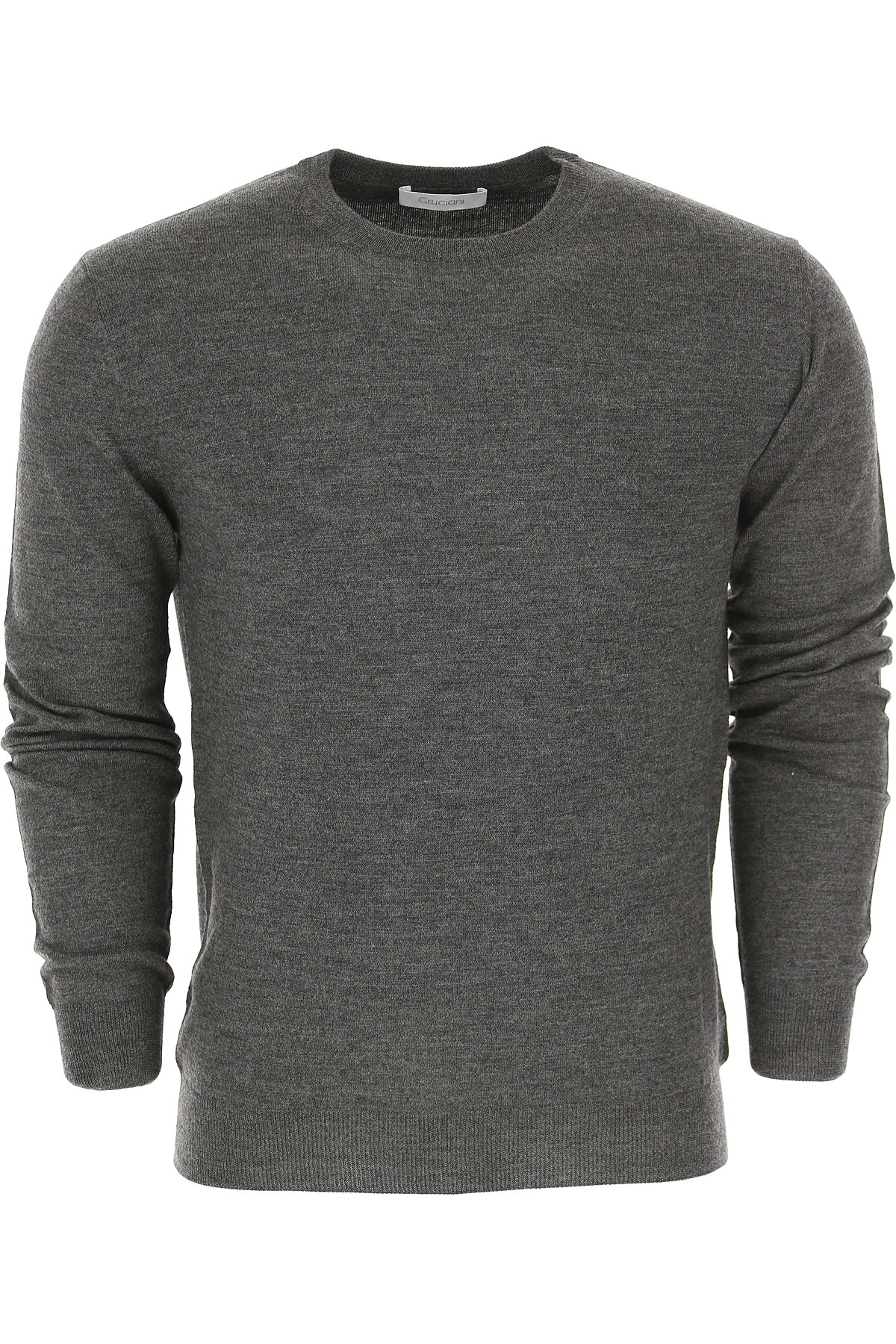 Image of Cruciani Sweater for Men Jumper, Anthracite, Wool, 2017, L M XL
