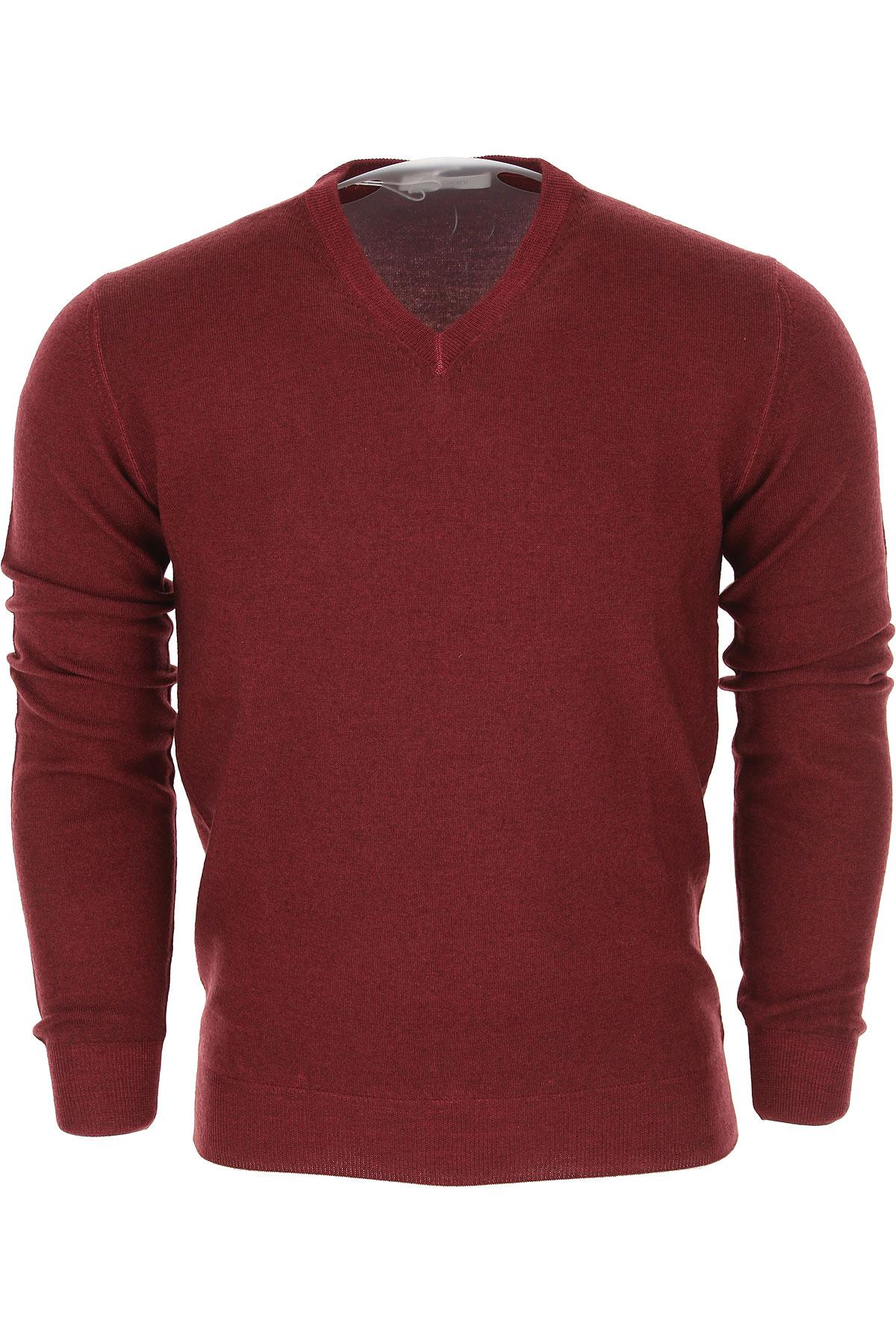 Image of Cruciani Sweater for Men Jumper, Bordeaux, Wool, 2017, L M S XL