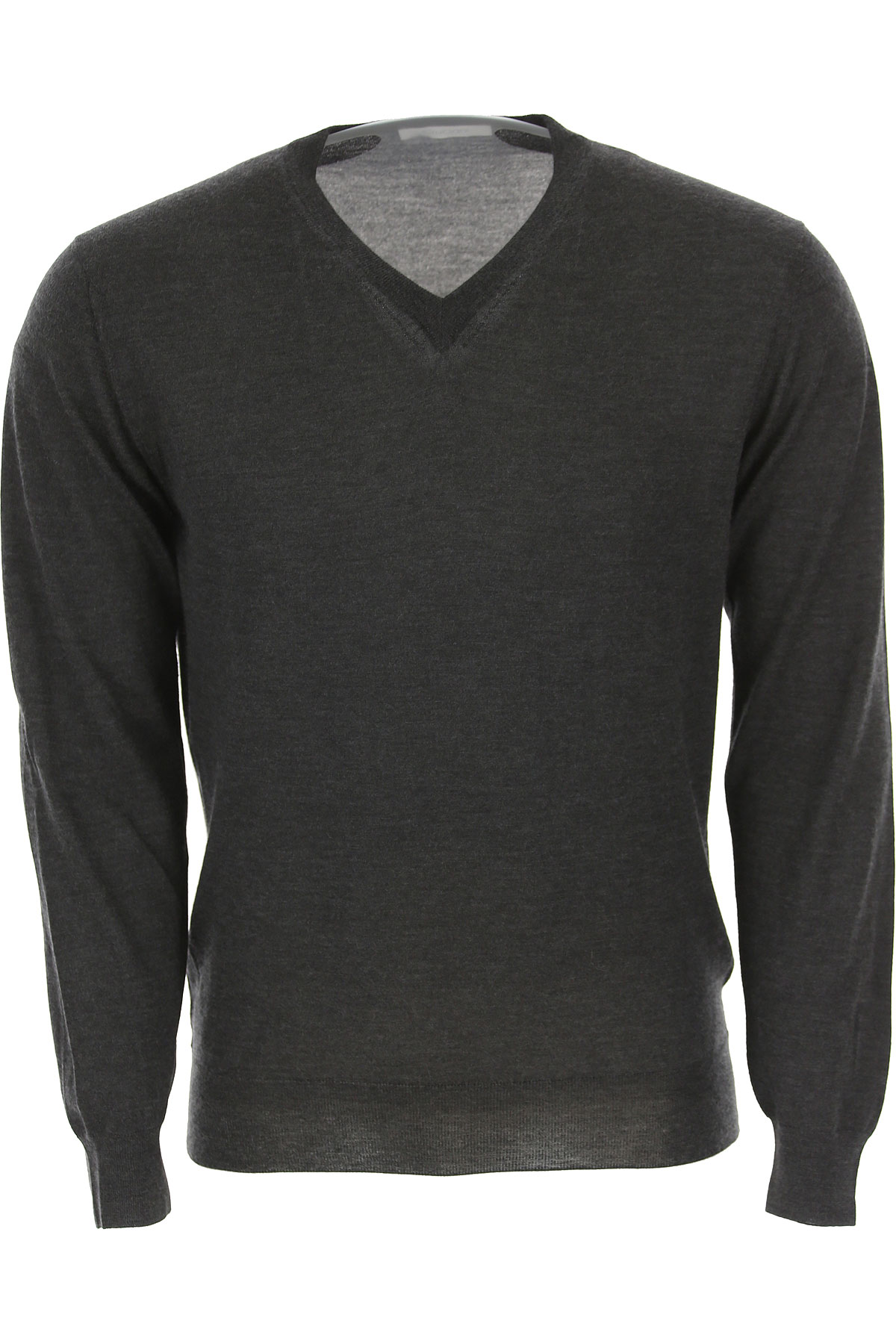 Image of Cruciani Sweater for Men Jumper, Anthracite Grey, Cashmere, 2017, L M