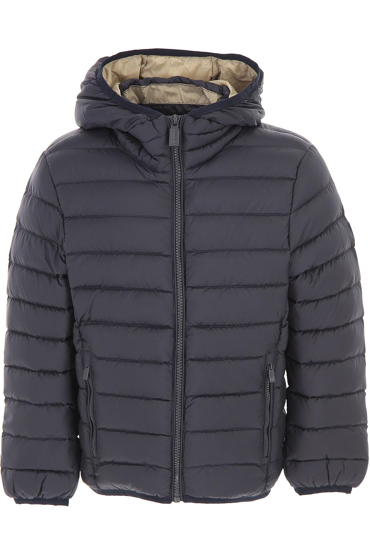 Image of Ciesse Piumini Boys Down Jacket for Kids, Puffer Ski Jacket, Blue, Nylon, 2017, 10Y 14Y 16Y 4Y 6Y 8Y