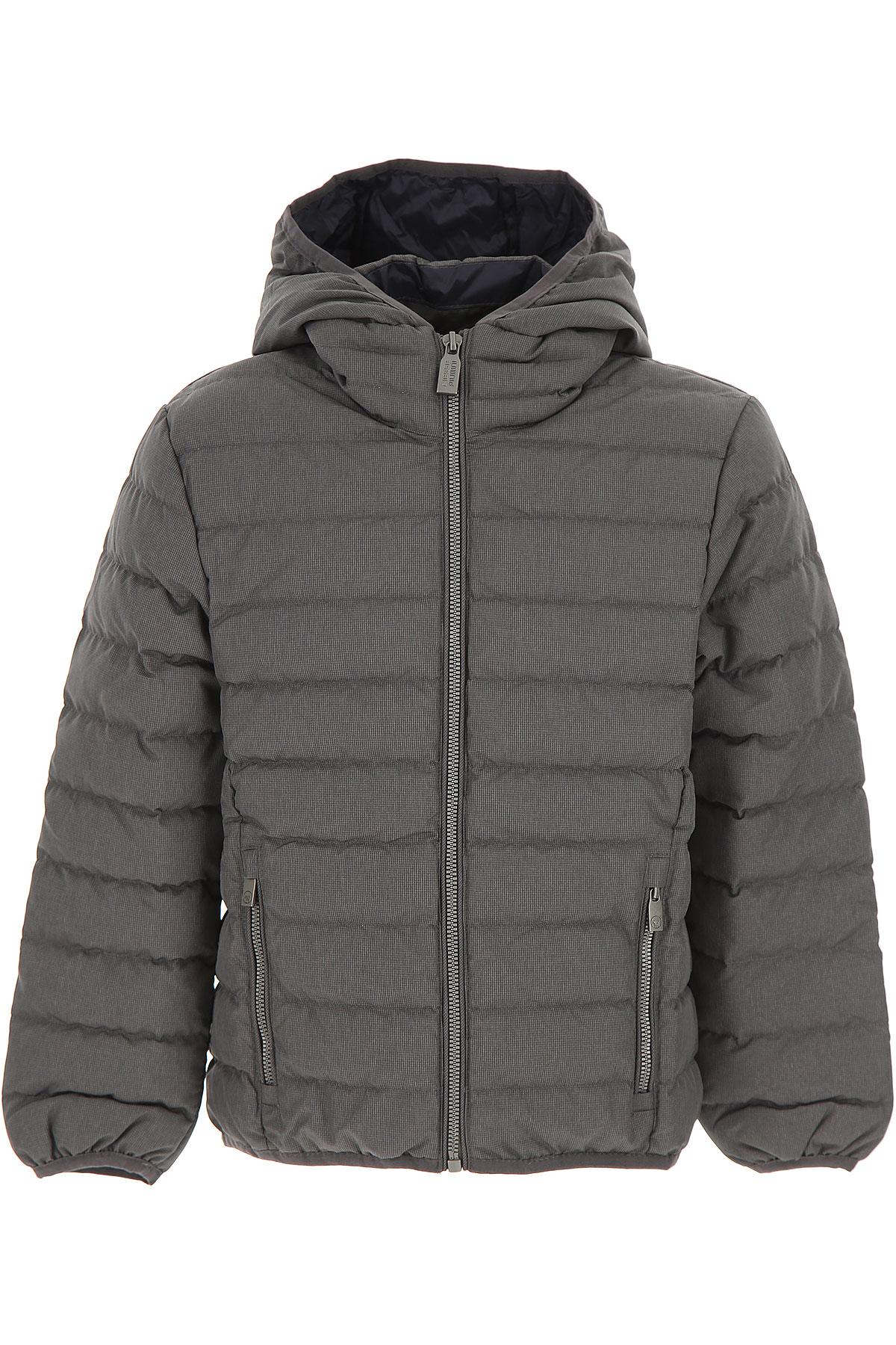Image of Ciesse Piumini Boys Down Jacket for Kids, Puffer Ski Jacket, Charcoal Grey, polyester, 2017, 10Y 14Y 16Y 4Y 6Y 8Y